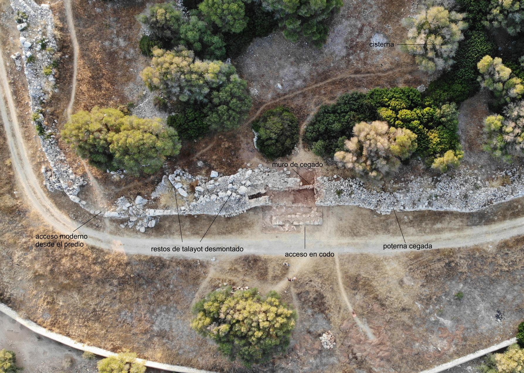 La puerta que defendió Menorca de las legiones romanas