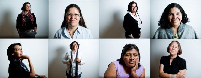 São líderes defensoras dos direitos das mulheres e outros grupos discriminados em seus países. Saíram da Nicarágua, Colômbia, Brasil, Peru e Equador para trocar seus progressos e principalmente seus desafios, em um encontro organizado pela ONG Oxfam Intermón em Madri. Estas são suas histórias. Assim fazem a América Latina avançar para a equidade.