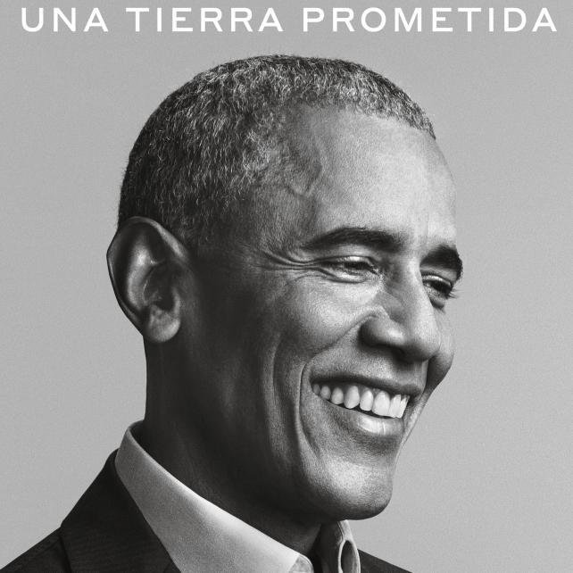 Portada de 'Una tierra prometida', de Barack Obama