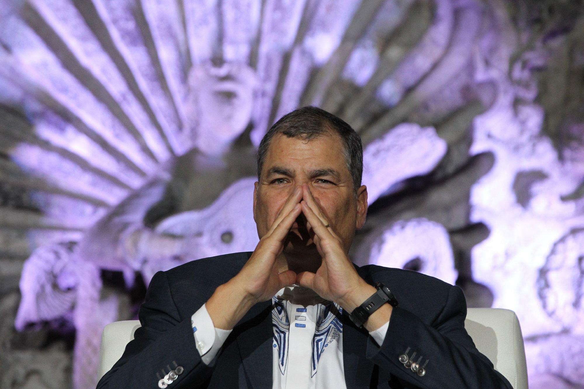La Corte de Ecuador inhabilita a Rafael Correa como candidato a vicepresidente