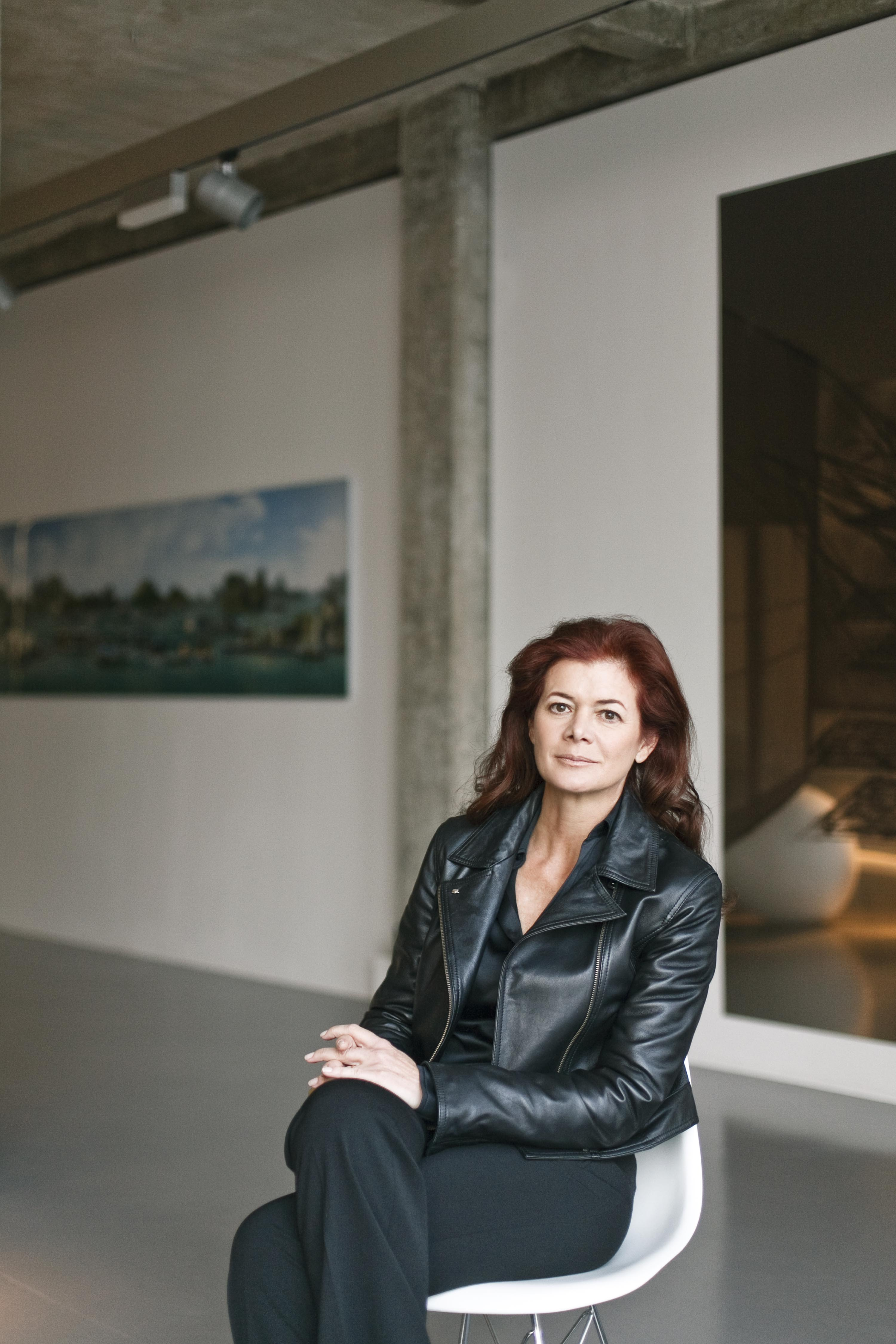Elena Ochoa Foster at the Ivorypress gallery in Madrid.