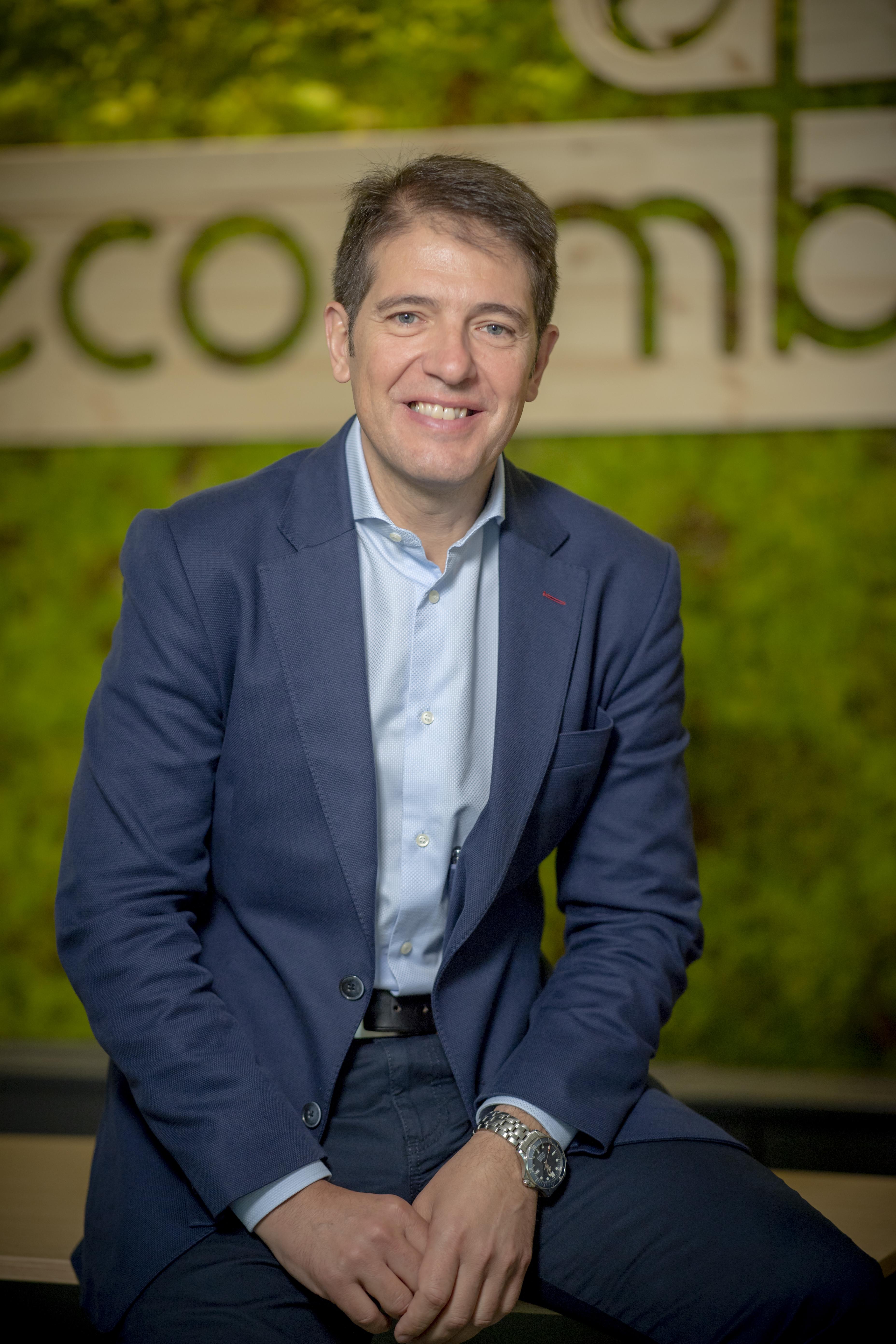 Óscar Martín Riva, biólogo de formación, dirige Ecoembes desde 2014.