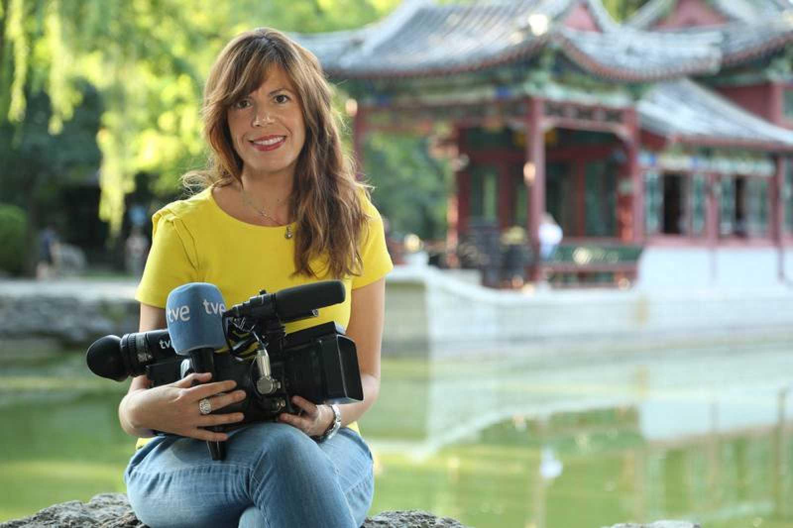 El trabajo en China de Mavi Doñate para RTVE premiado con el Cirilo Rodríguez