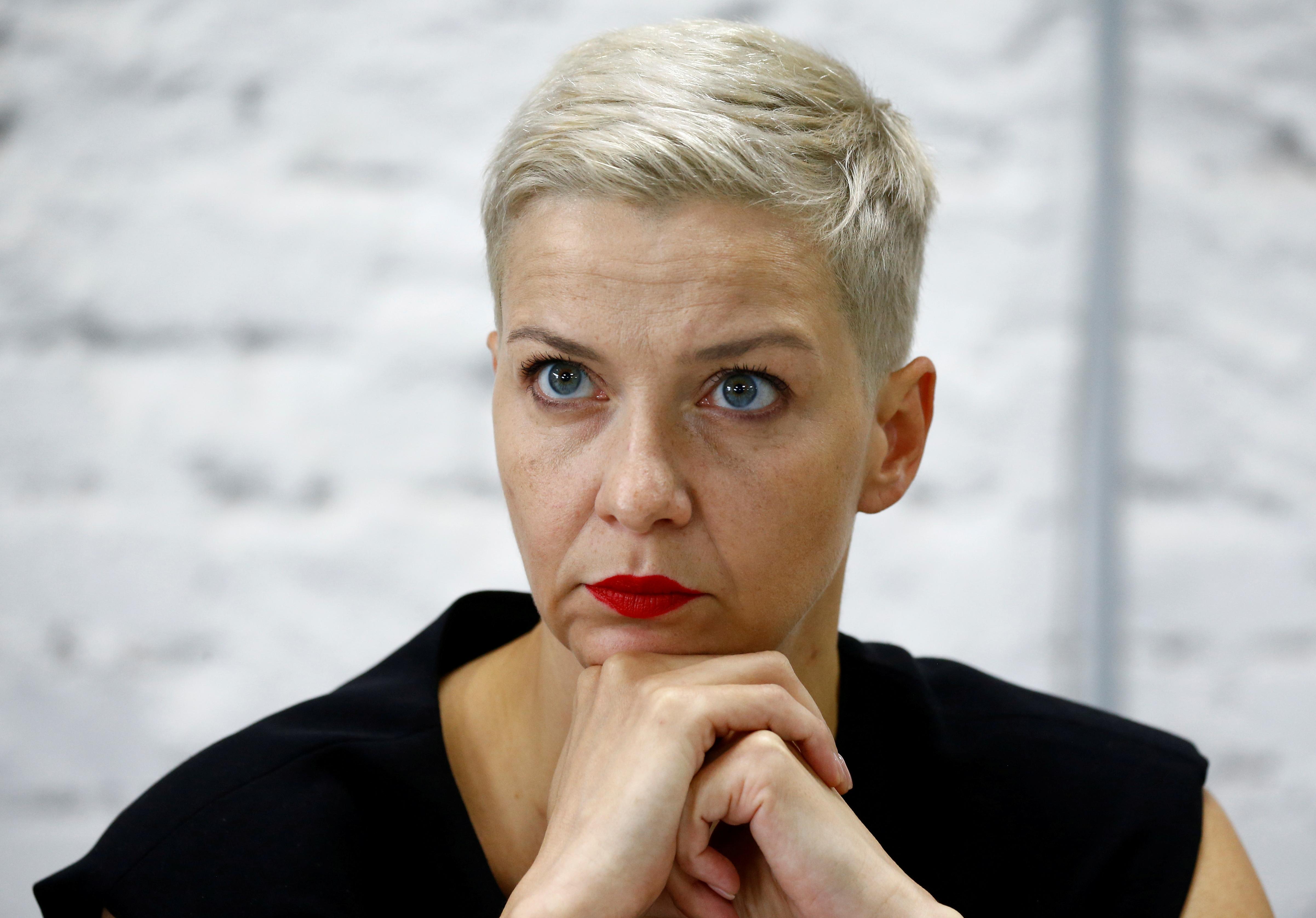 La opositora bielorrusa Kolesnikova, arrestada en la frontera con Ucrania tras ser detenida por encapuchados