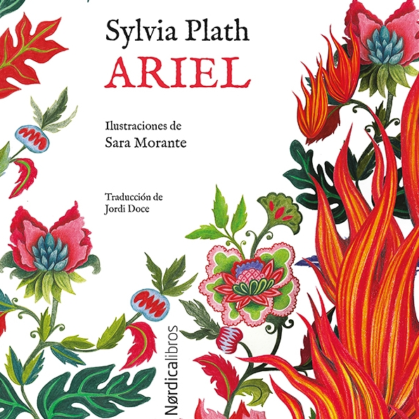Portada de 'Ariel', de Sylvia Plath.