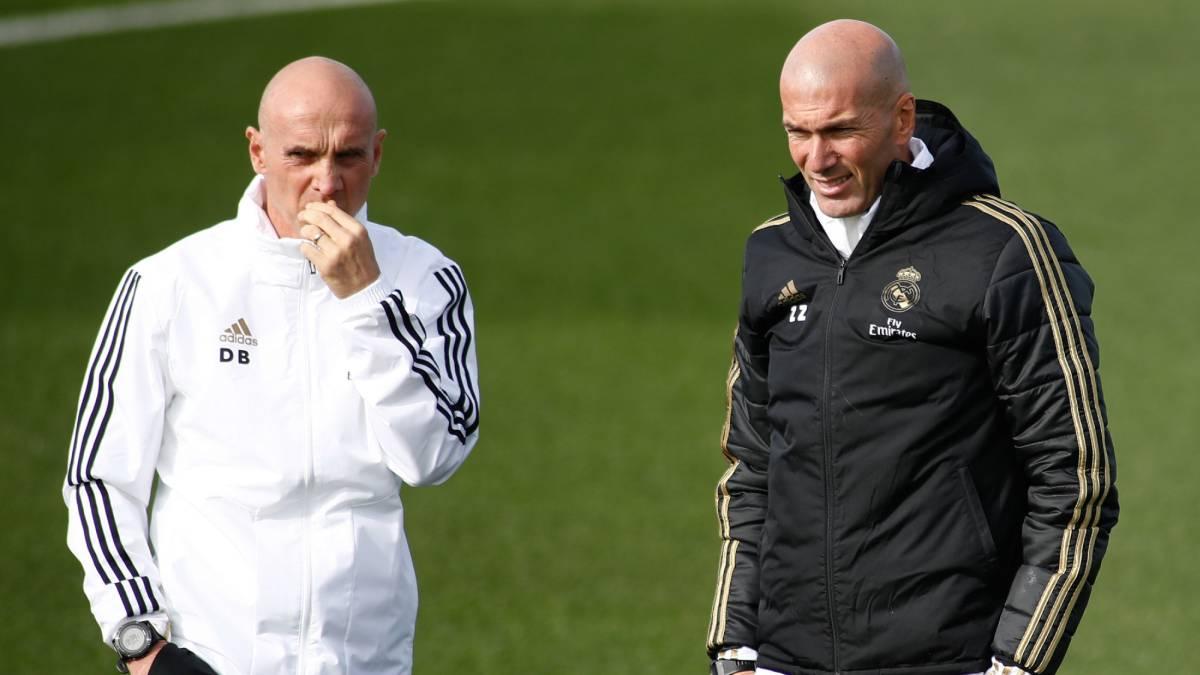 Zidane da positivo por coronavirus