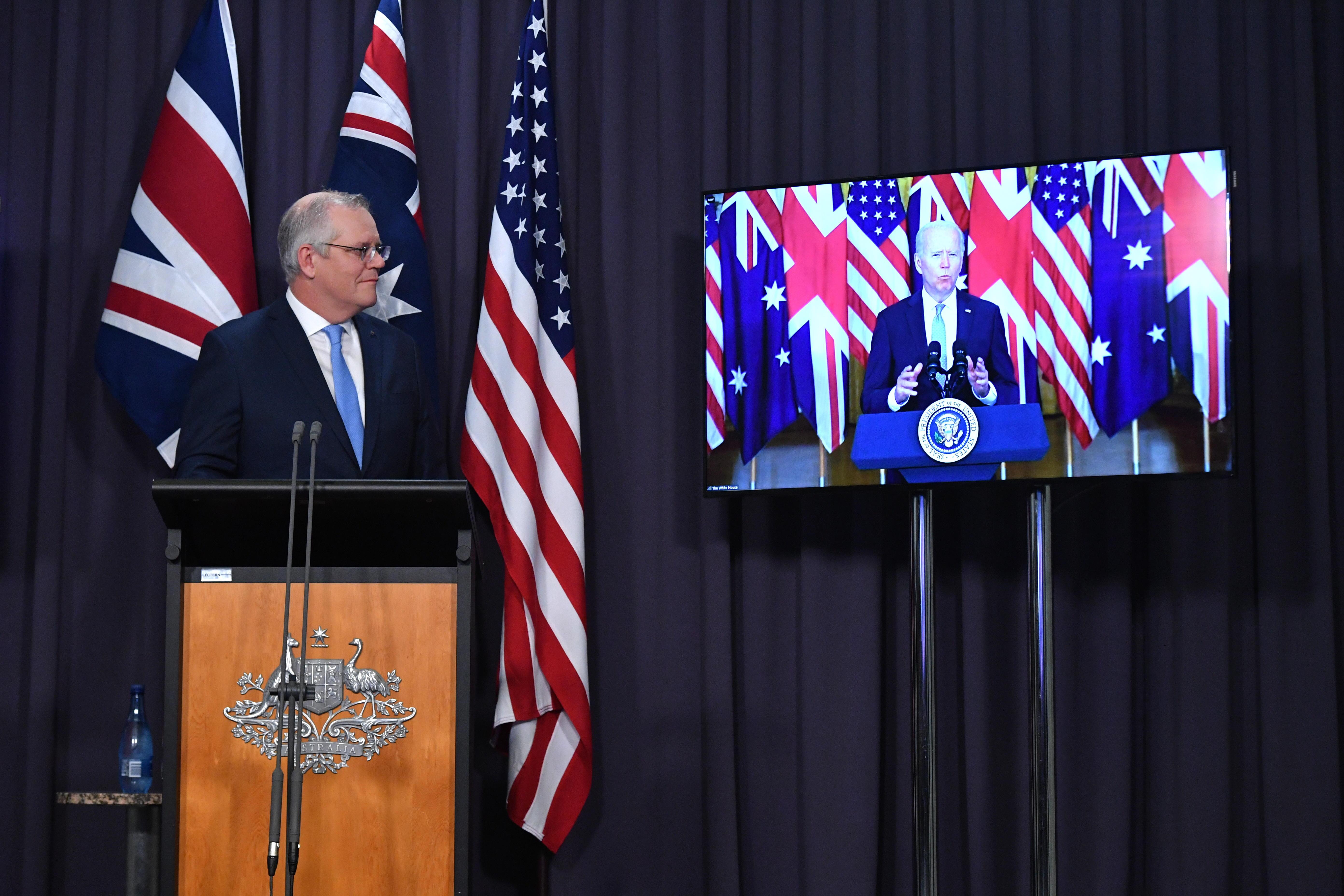 La gran alianza forjada por Biden en el Pacífico agrava el choque con China