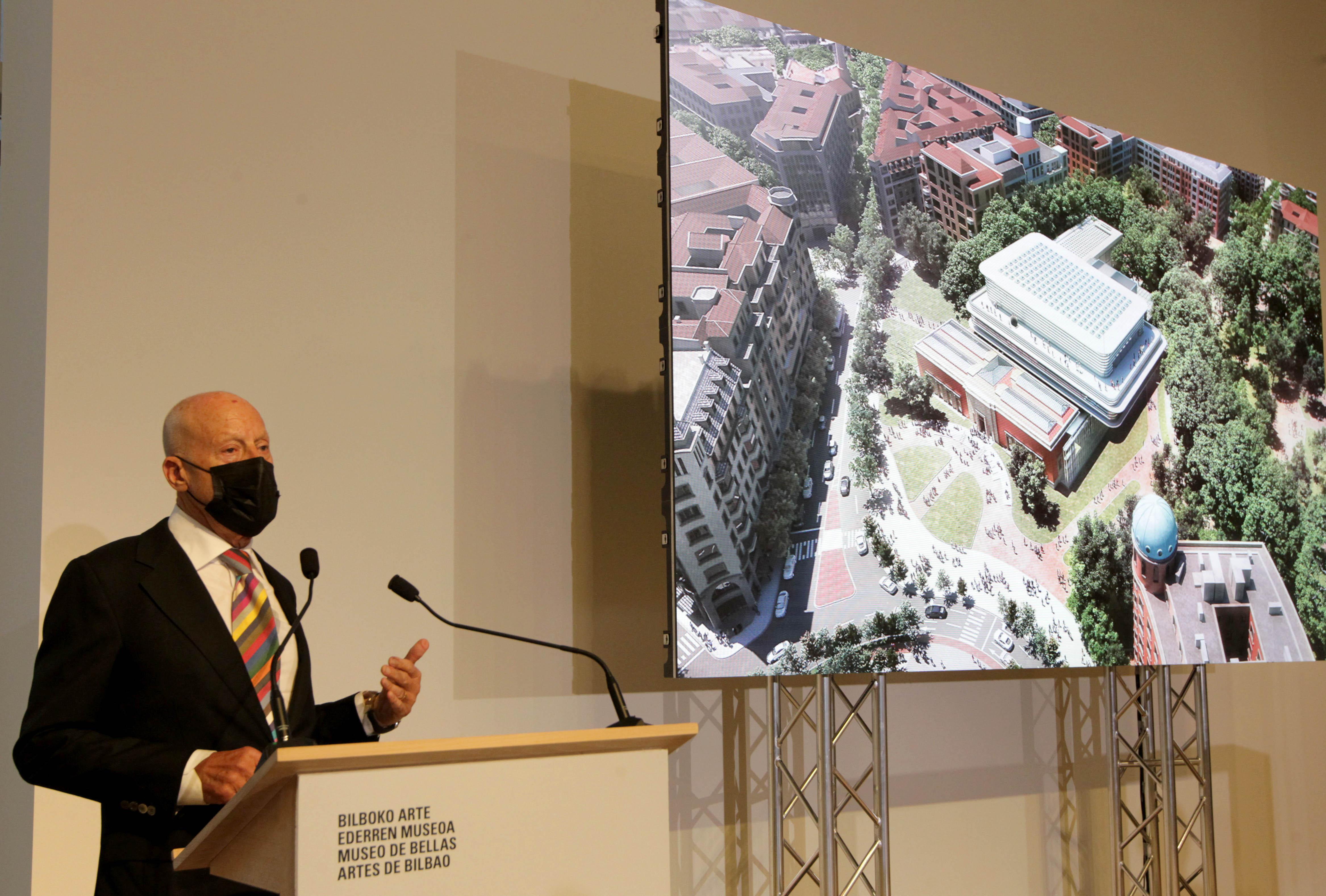 Así será la ampliación del Museo de Bellas Artes de Bilbao