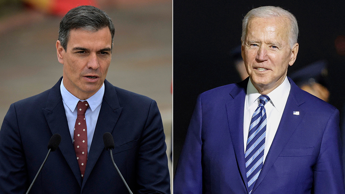 Joe Biden y Pedro Sánchez mantendrán una entrevista en la cumbre de la OTAN