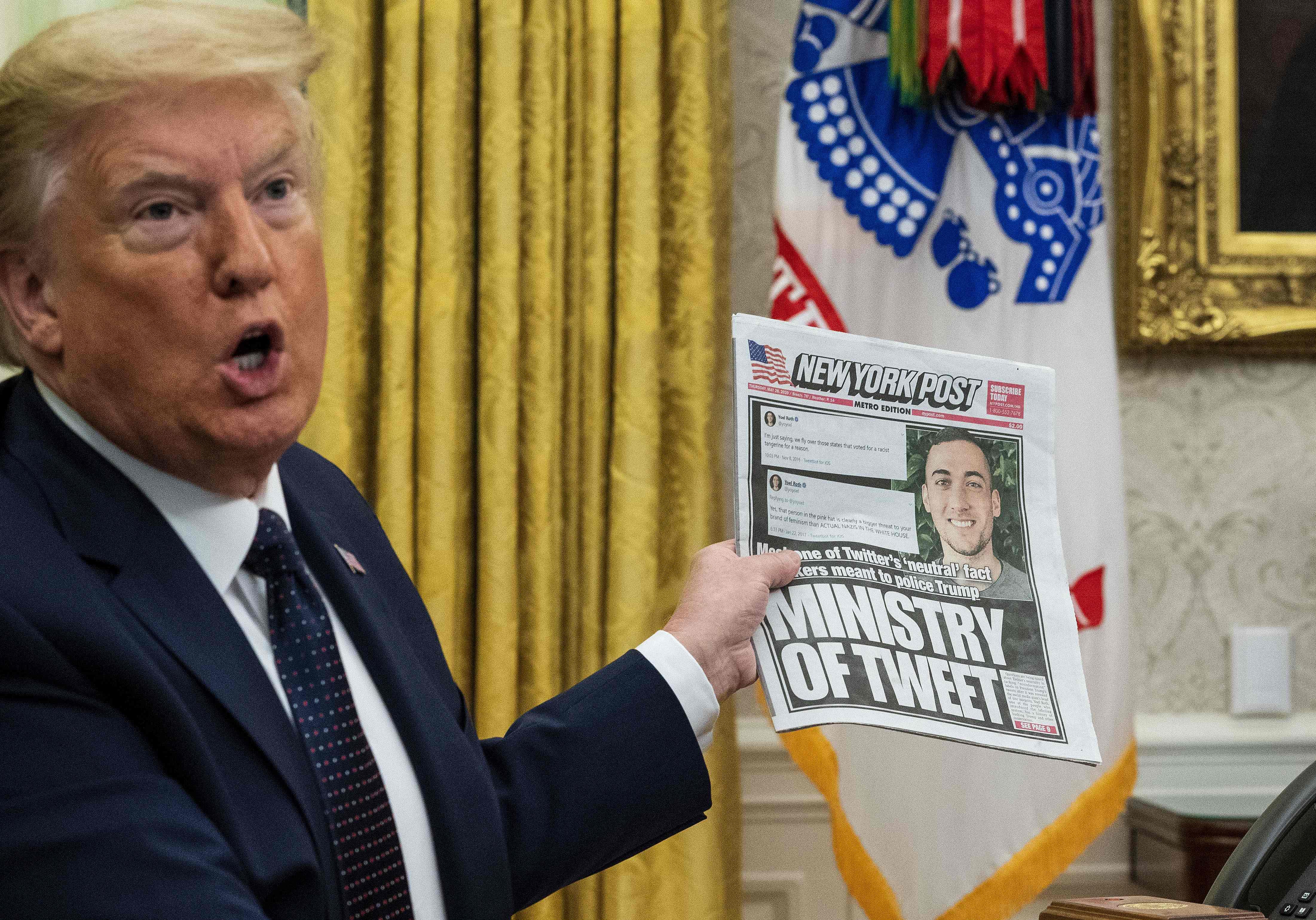 Por qué el conflicto entre Trump y Twitter esconde una de las batallas de  nuestro tiempo | Tecnología | EL PAÍS