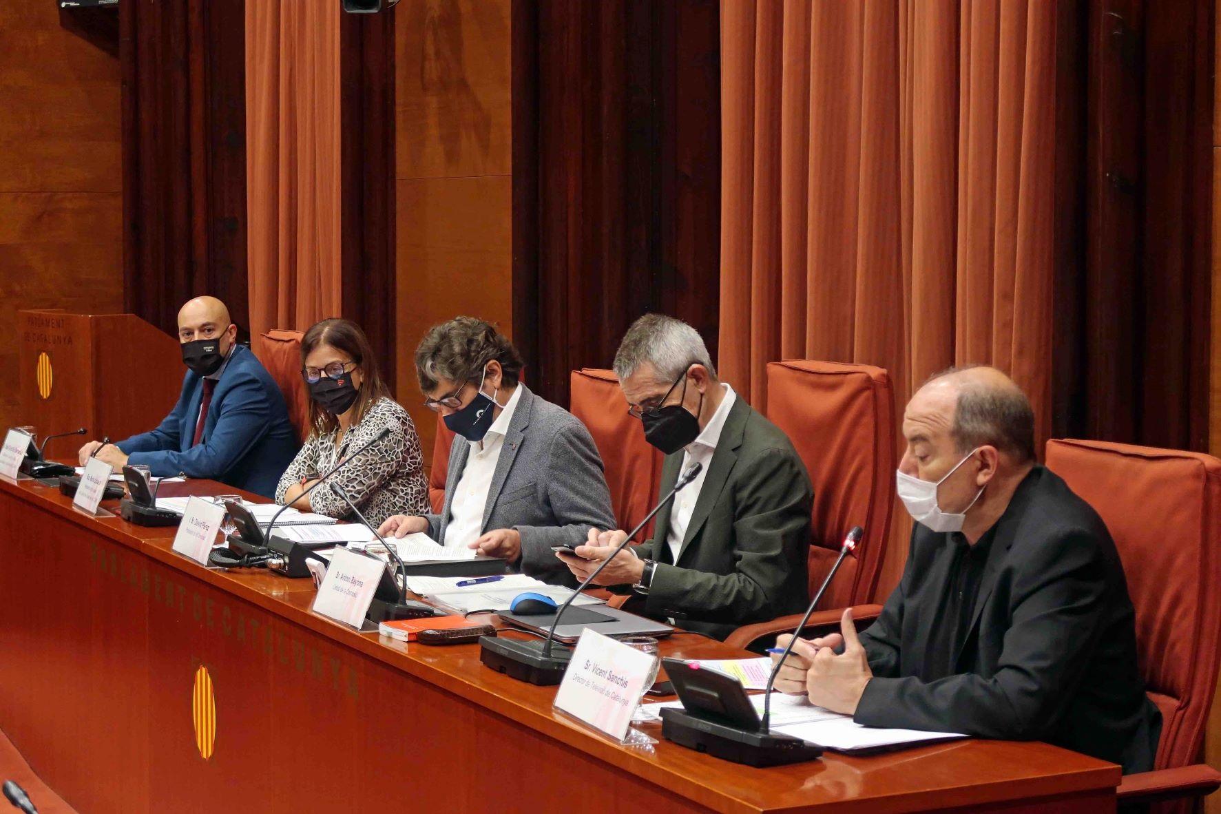 ERC y PSC urgen renovar la cúpula de la CCMA y el CAC antes de final de año