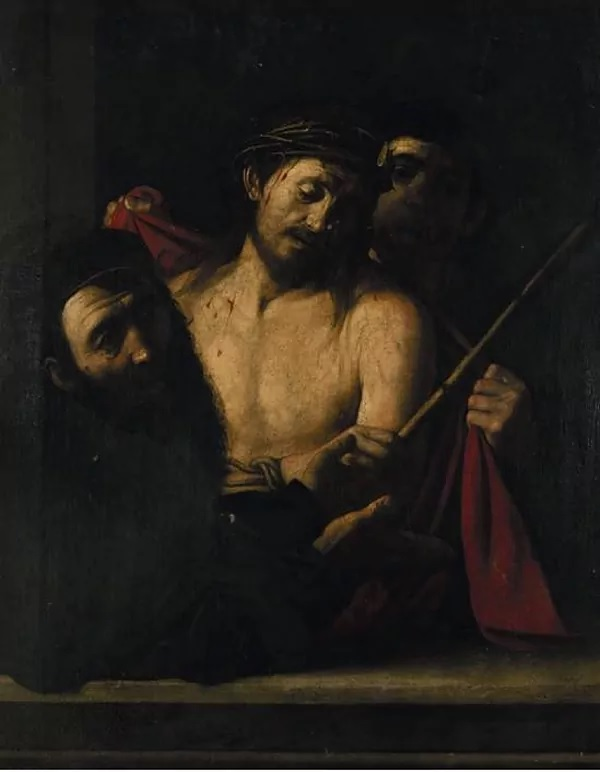 'Ecce homo' removed from the Casa Ansorena auction in Madrid.