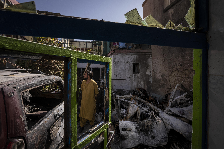 """El Pentágono reconoce como un """"trágico error"""" el ataque con dron que mató a diez civiles durante la evacuación de Kabul"""