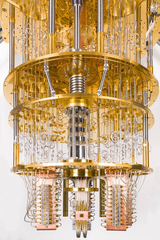 El procesador cuántico de IBM.