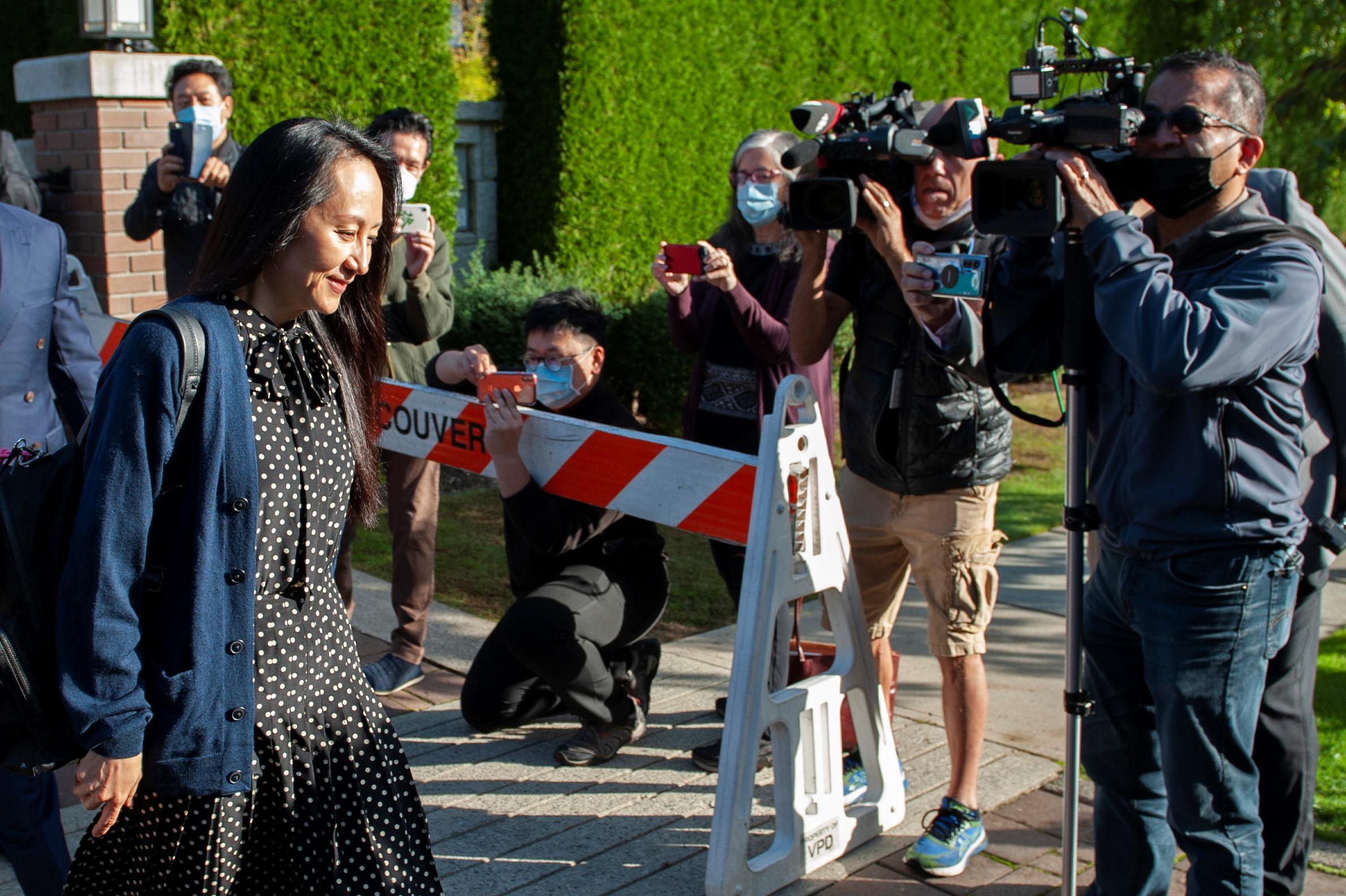Estados Unidos permitirá volver a China a la vicepresidenta de Huawei