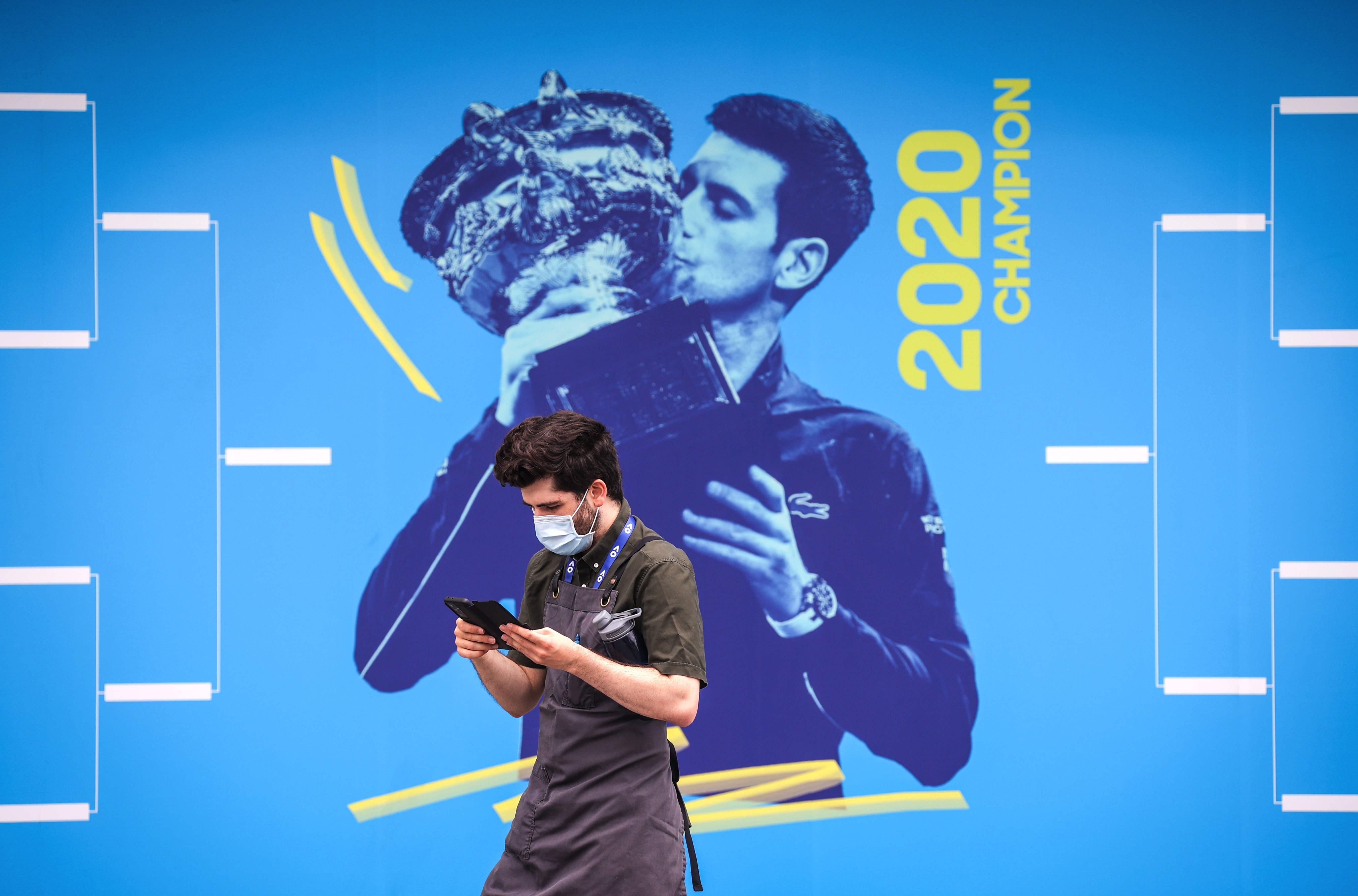 Θετική από τον υπάλληλο του ξενοδοχείου θέτει το Australian Open σε δοκιμαστική περίοδο |  Αθλητισμός