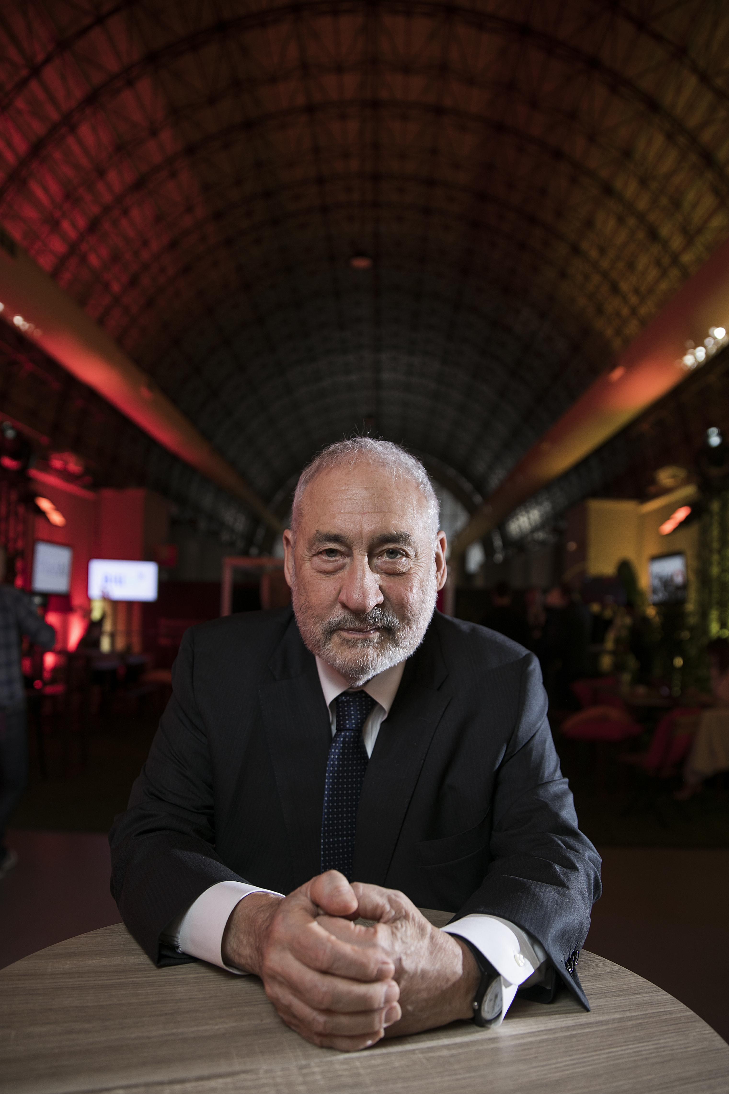 Joseph Stiglitz, en una imagen de 2018. CARLOS ROSILLO