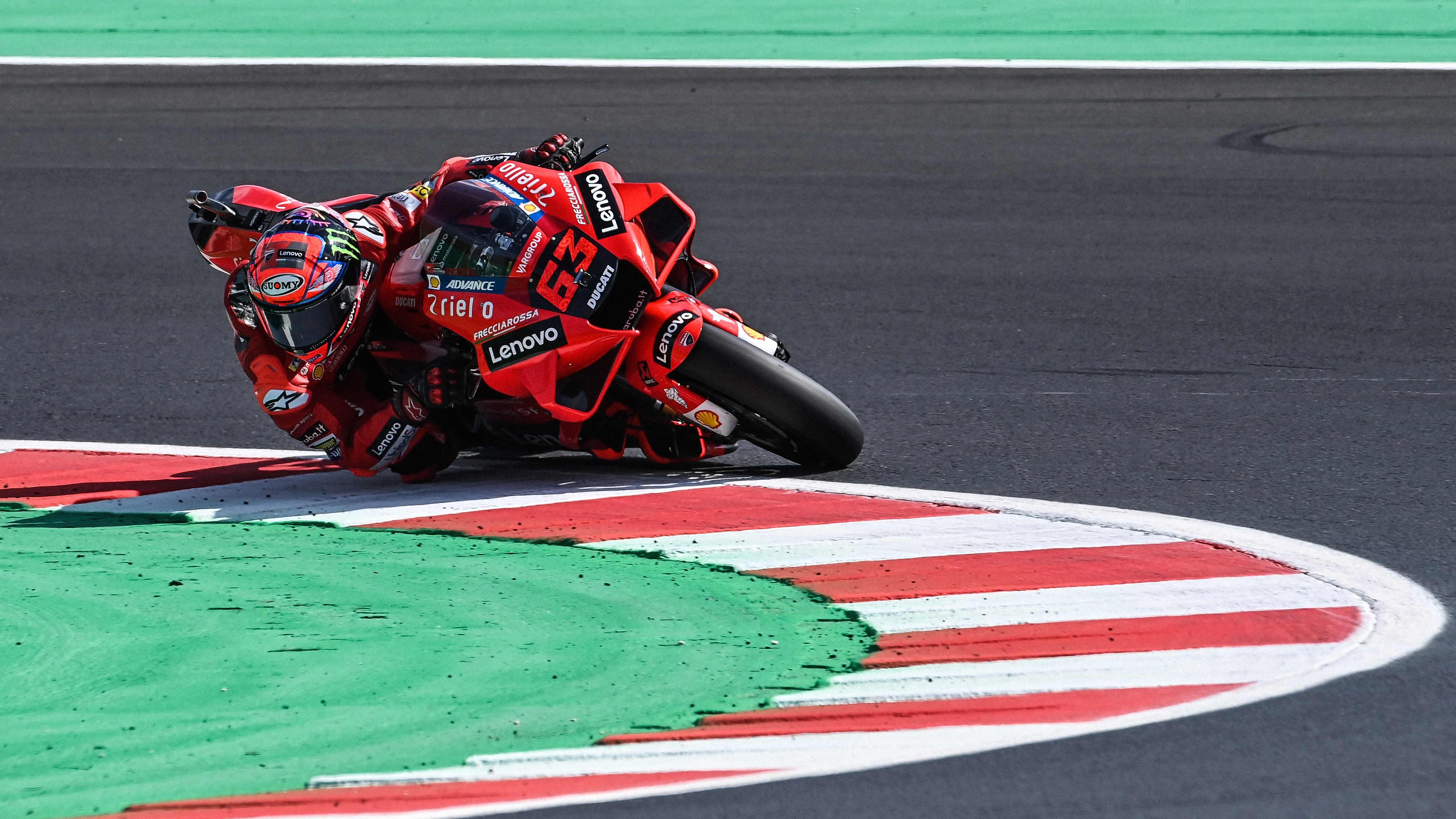 Pecco Bagnaia vuela en Misano, un circuito conquistado por Ducati