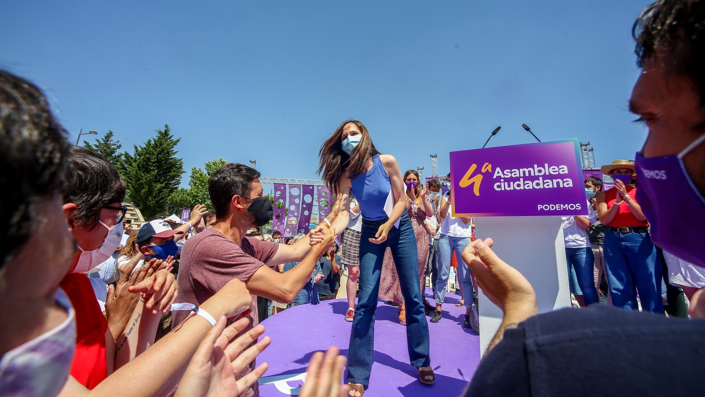 """Belarra, elegida secretaria general de Podemos, carga contra """"las derechas"""" de Colón"""