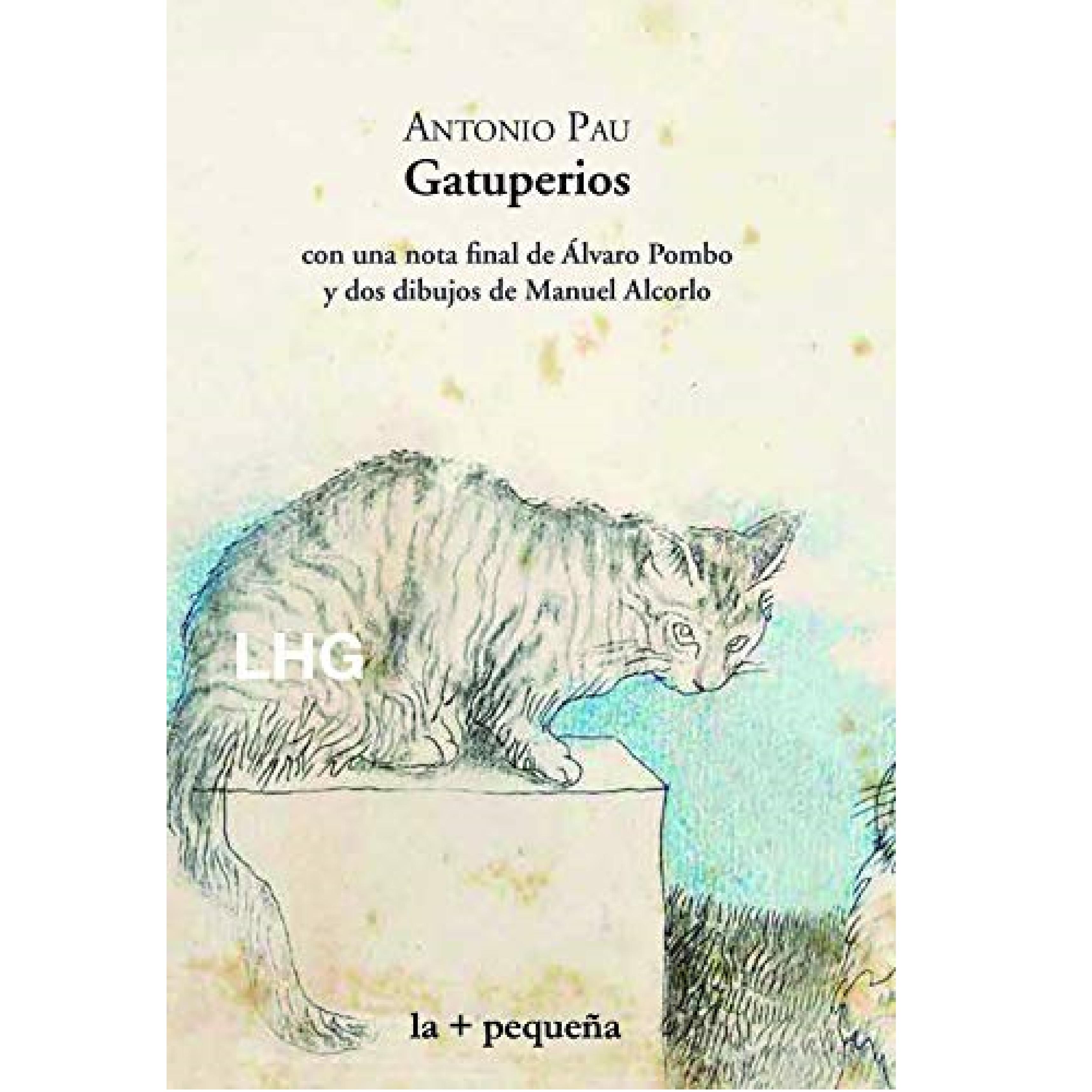 Portada de 'Gatuperios', de Antono Pau.