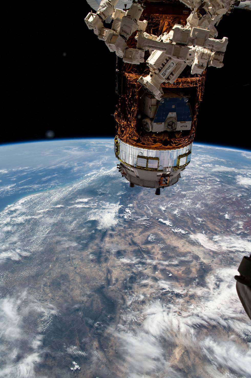 Imagen del telescopio Hubble.
