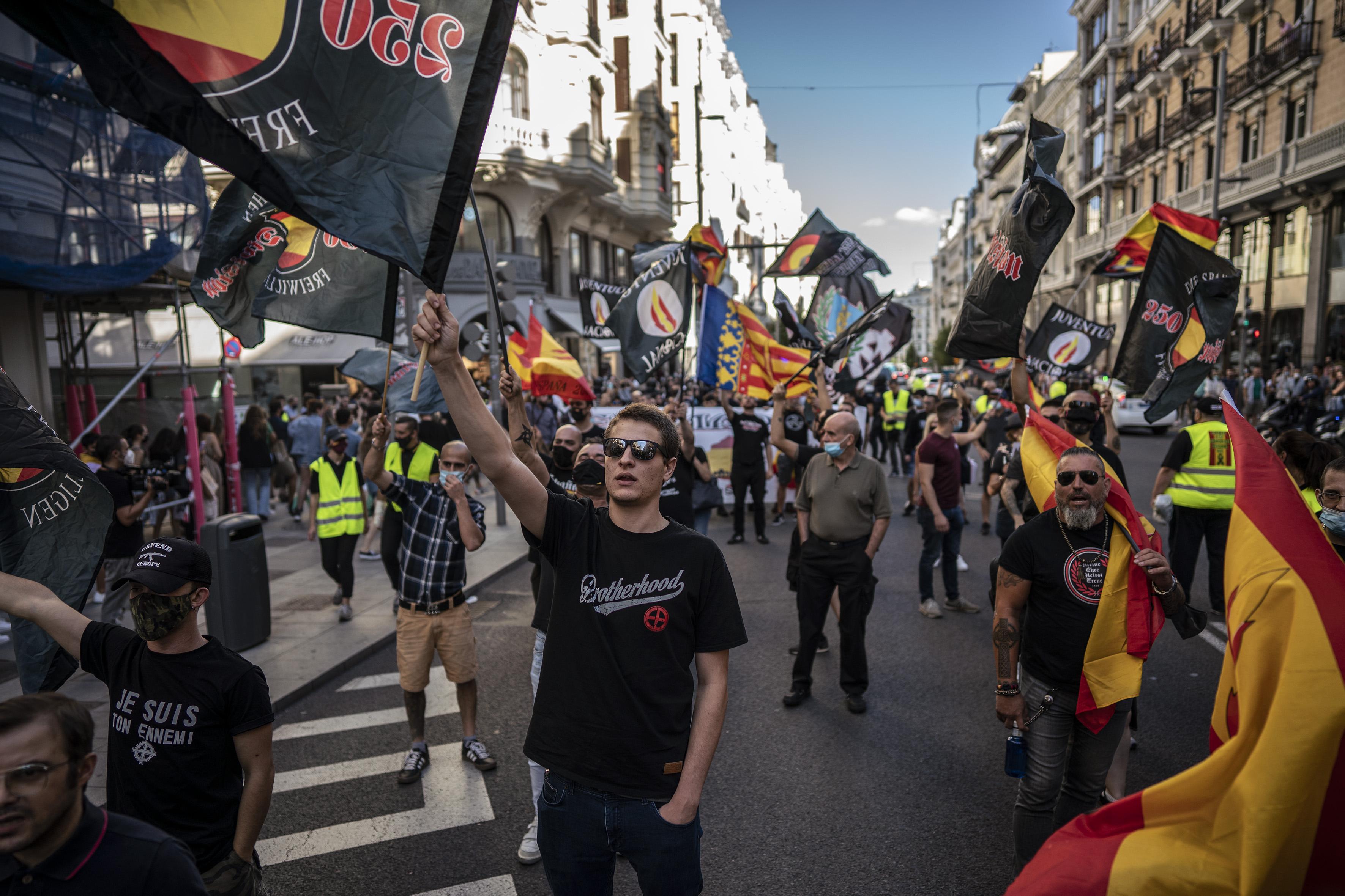 Igualdad llevará a la Fiscalía la marcha neonazi en Chueca contra el colectivo LGTBI