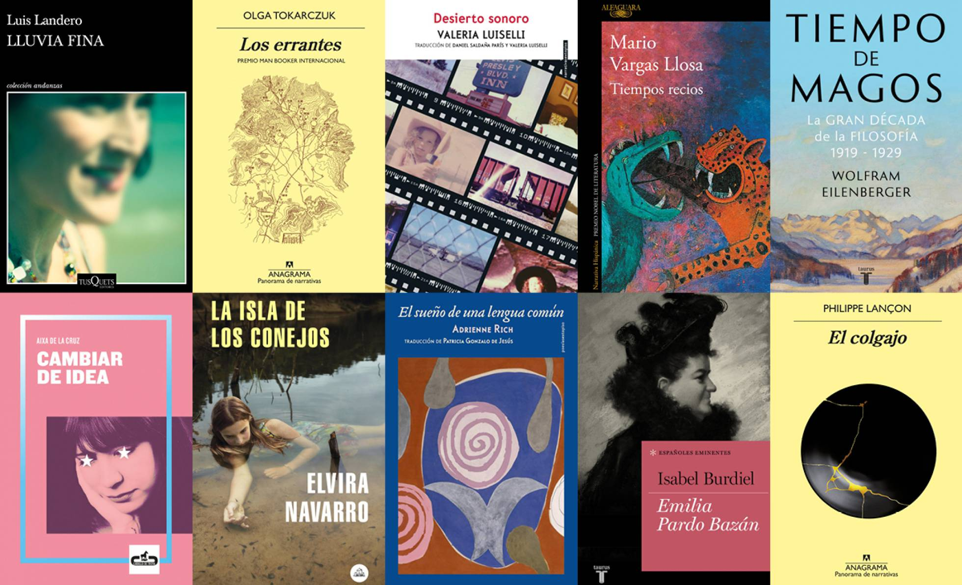 The best books of 2019, according to the 'Babelia' jury.