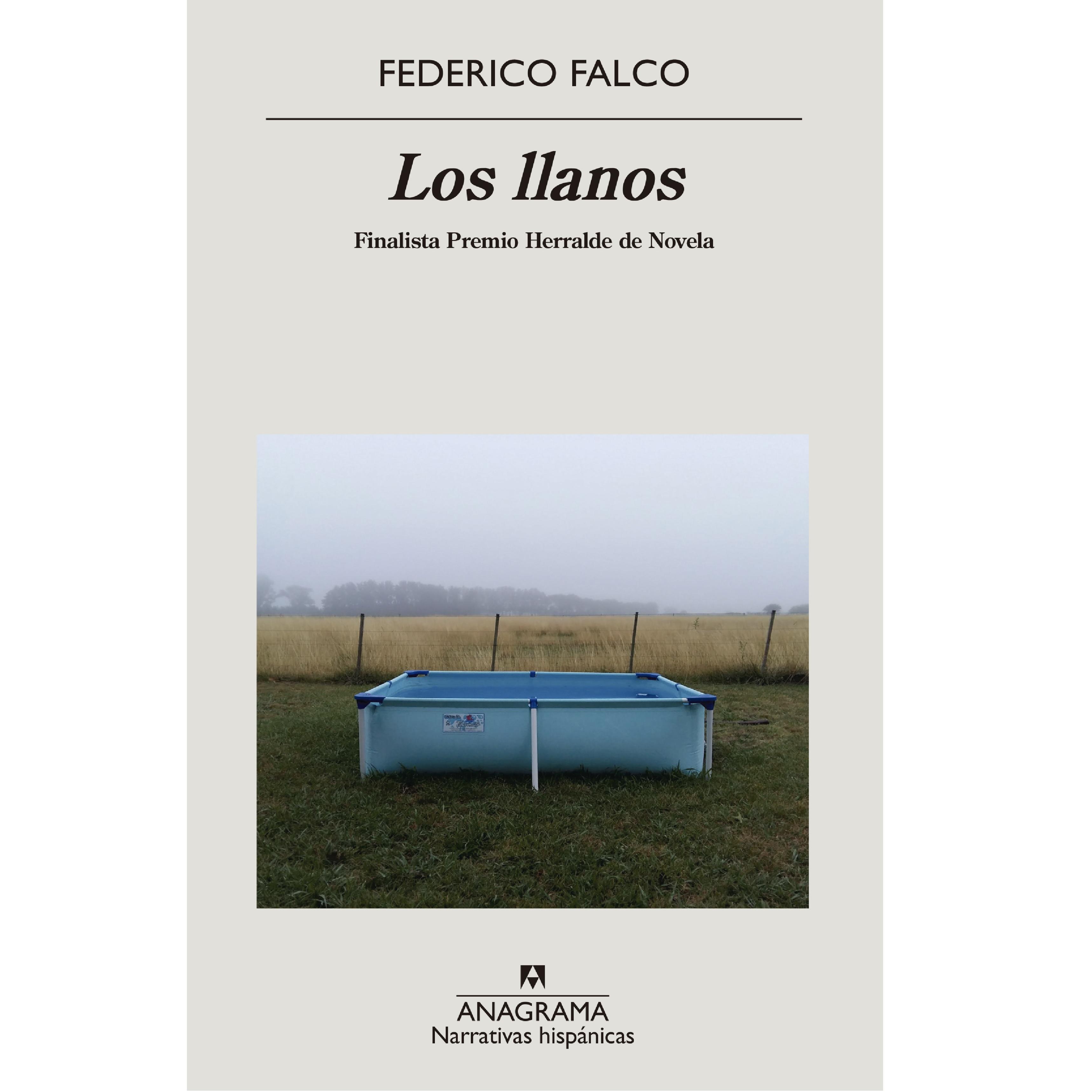 Portada de 'Los llanos', de Federico Falco.