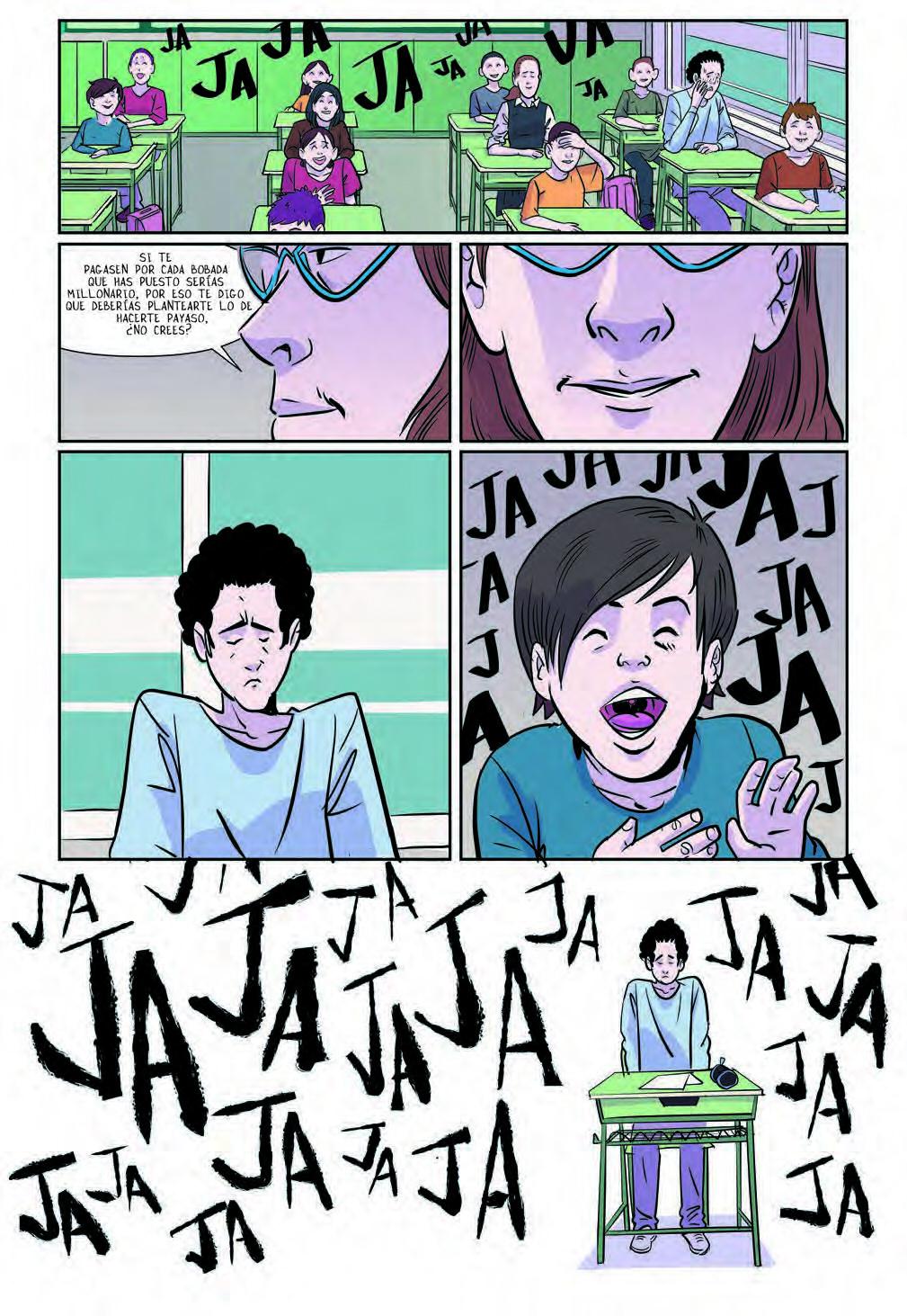 El exbaloncestista Iñaki Zubizarreta relata en el cómic 'Subnormal' el  calvario que sufrió en el colegio | Cultura | EL PAÍS