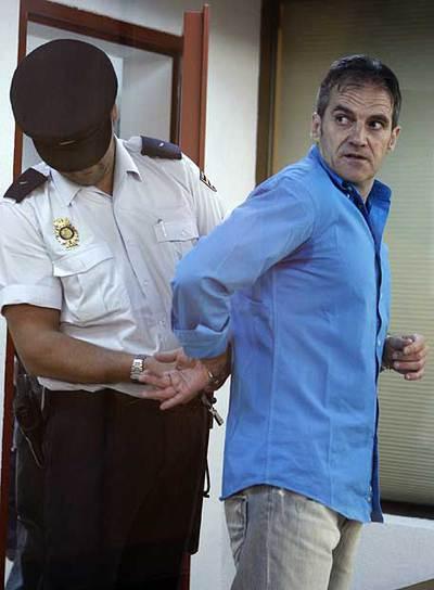 El ex jefe de ETA 'Kantauri', en un juicio en la Audiencia Nacional en 2019.