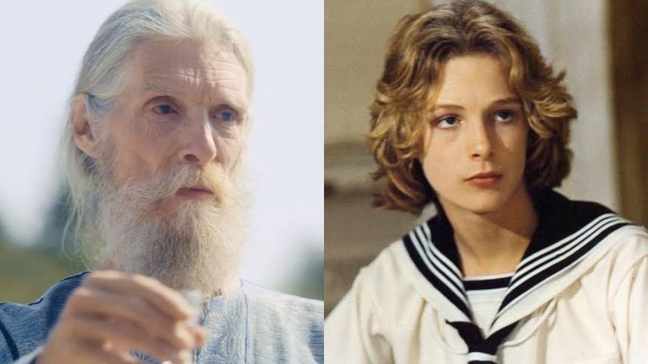 Björn Andrésen en 'Midsommar' (2019) y en 'Muerte en Venecia' (1971).