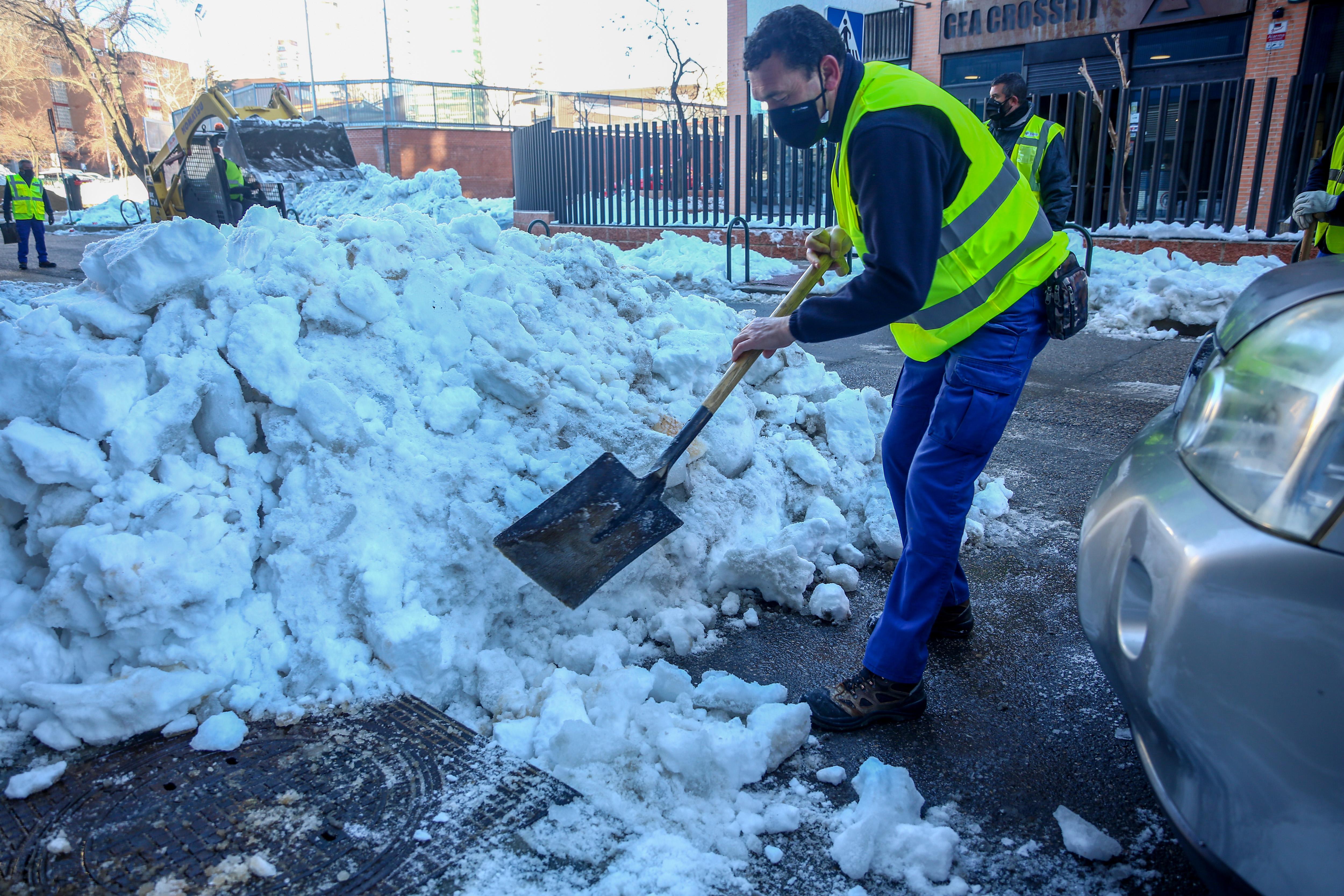 Cuánta Nieve Puede Quedar En Madrid Madrid El País