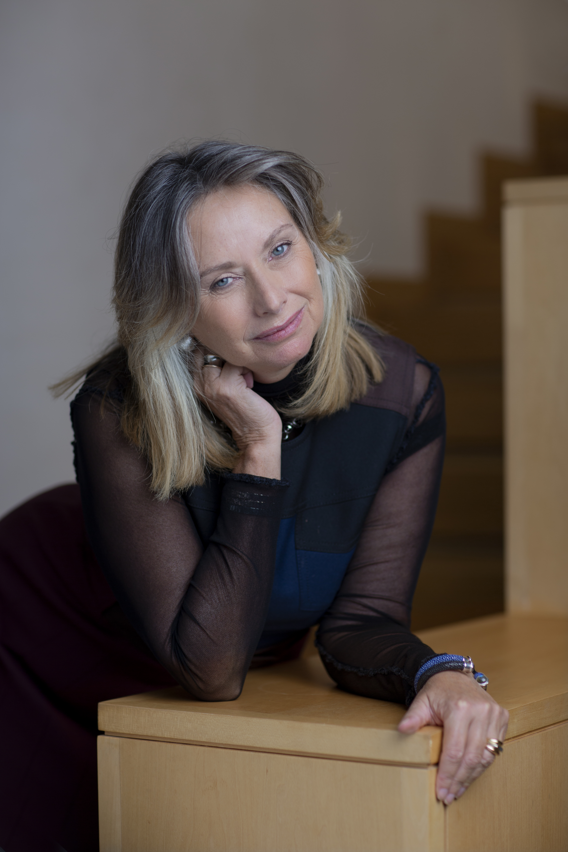 The collector Anita Zabludowicz in London.