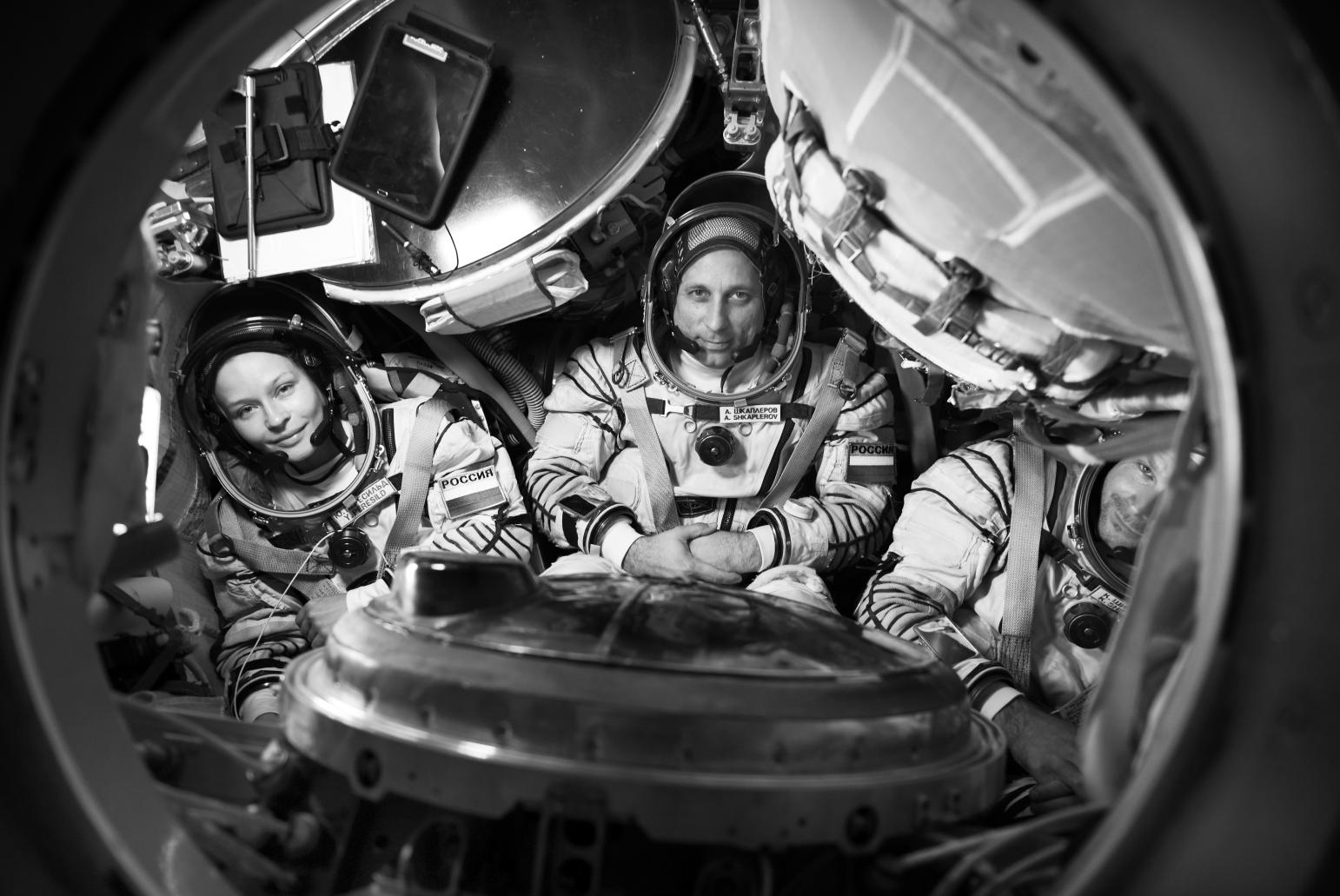 Rusia ultima el lanzamiento de la misión que rodará la primera película en el espacio