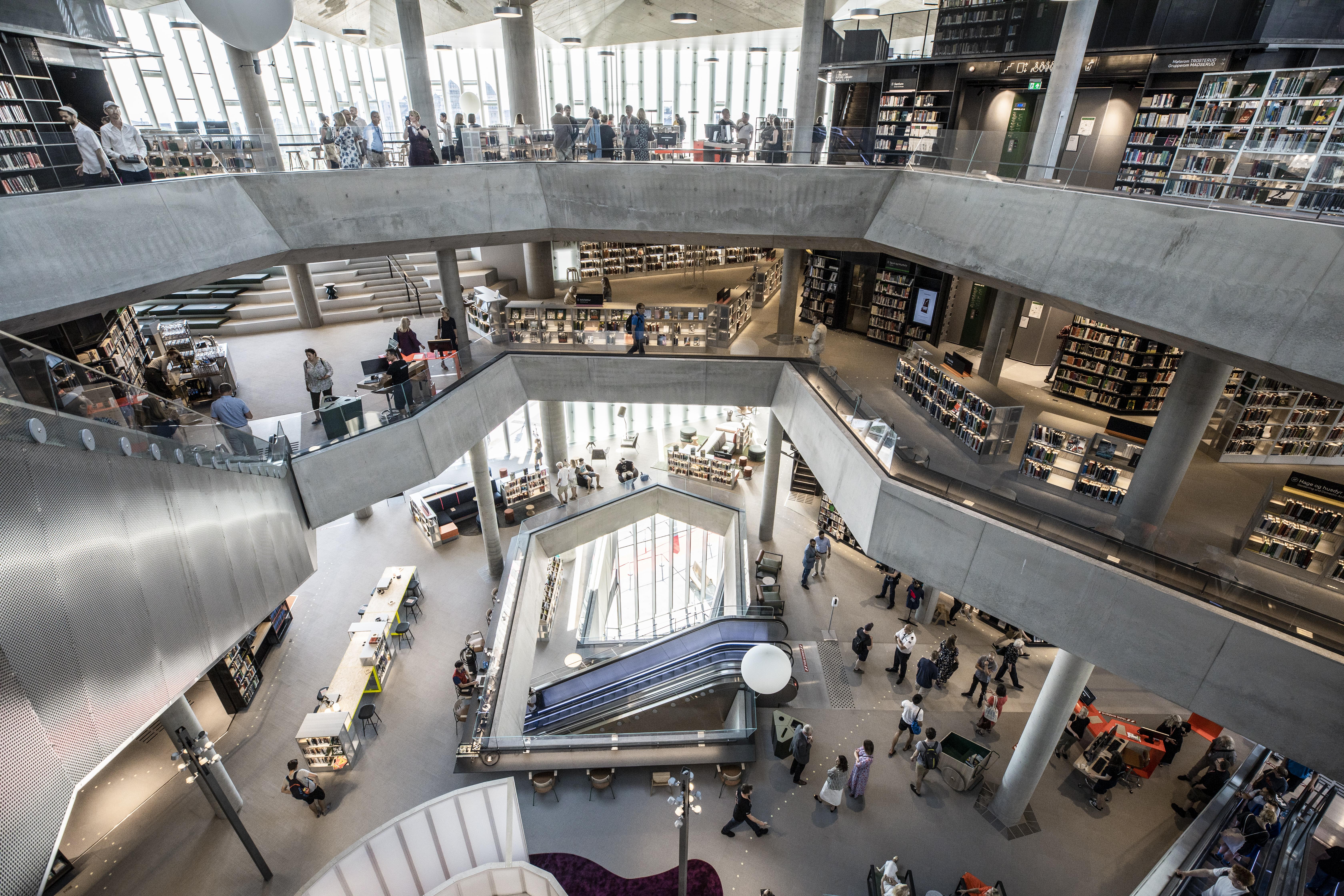 Secretos de la Deichman Bjørvika de Oslo, la mejor biblioteca del mundo
