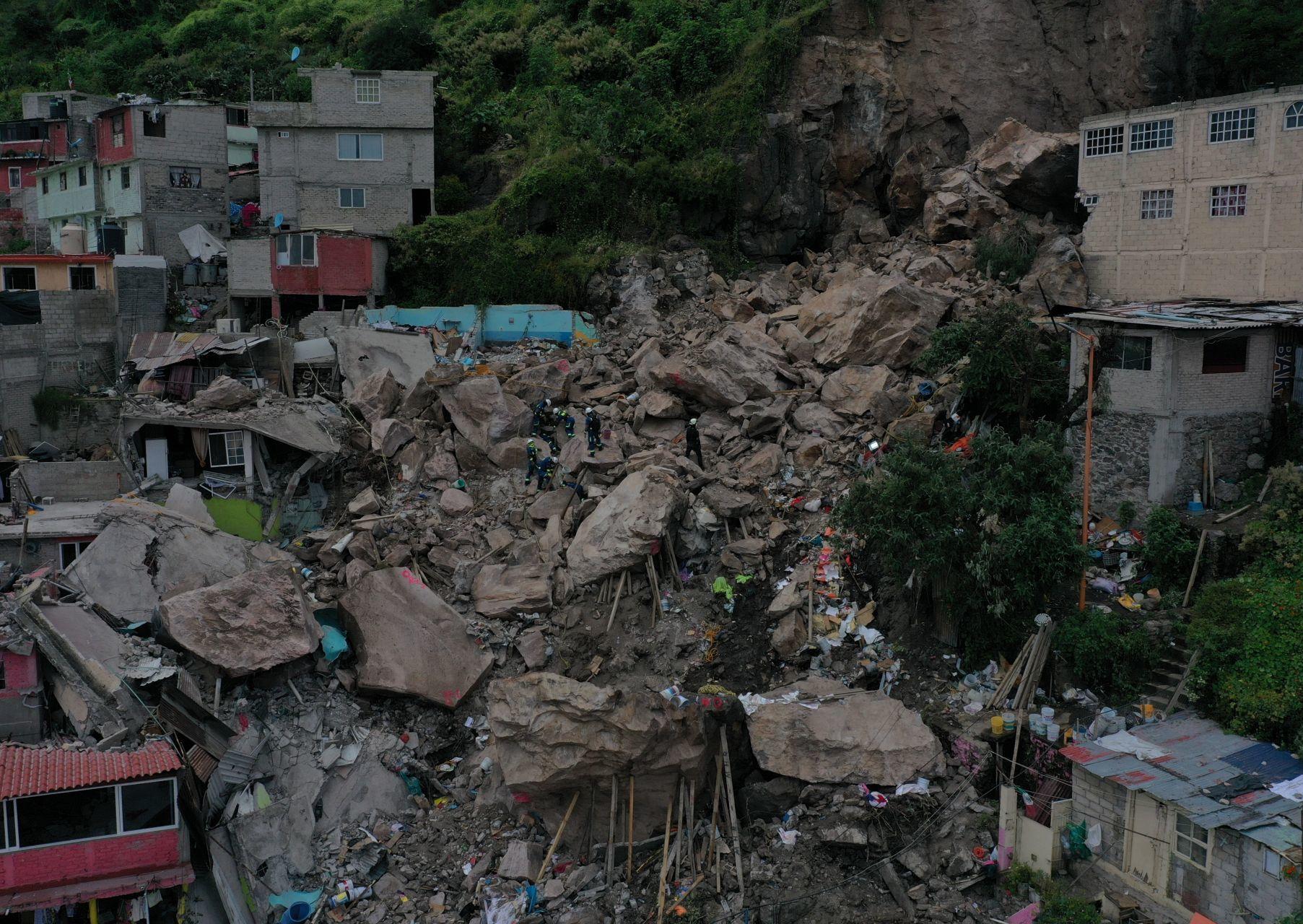Los desastres naturales se ensañan con el México más pobre
