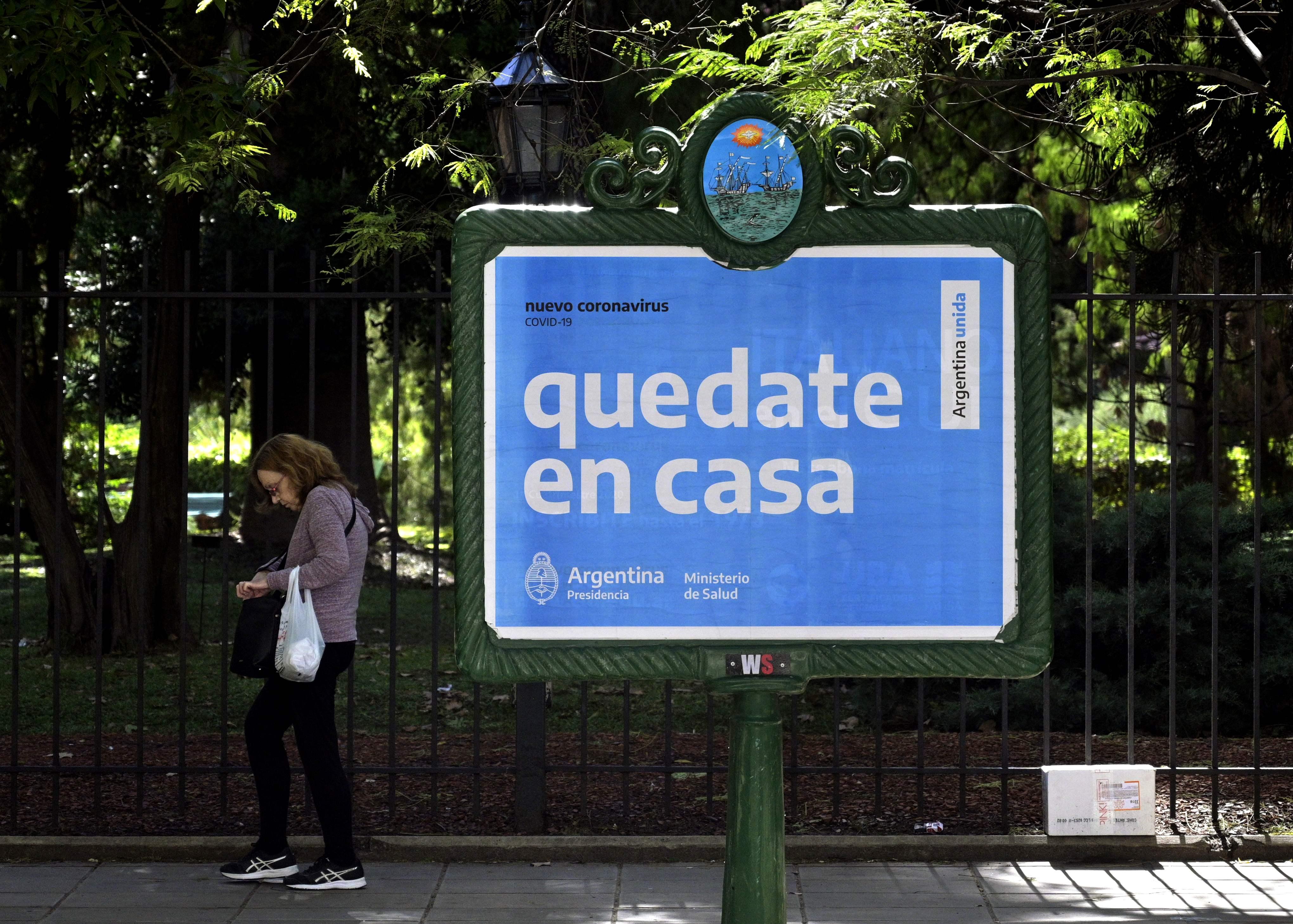 Argentina entra en cuarentena obligatoria hasta el 31 de marzo | Sociedad | EL PAÍS