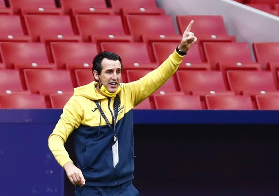 Unai Emery: ?El problema del Madrid y el Barça es que regulan el esfuerzo contra rivales inferiores?