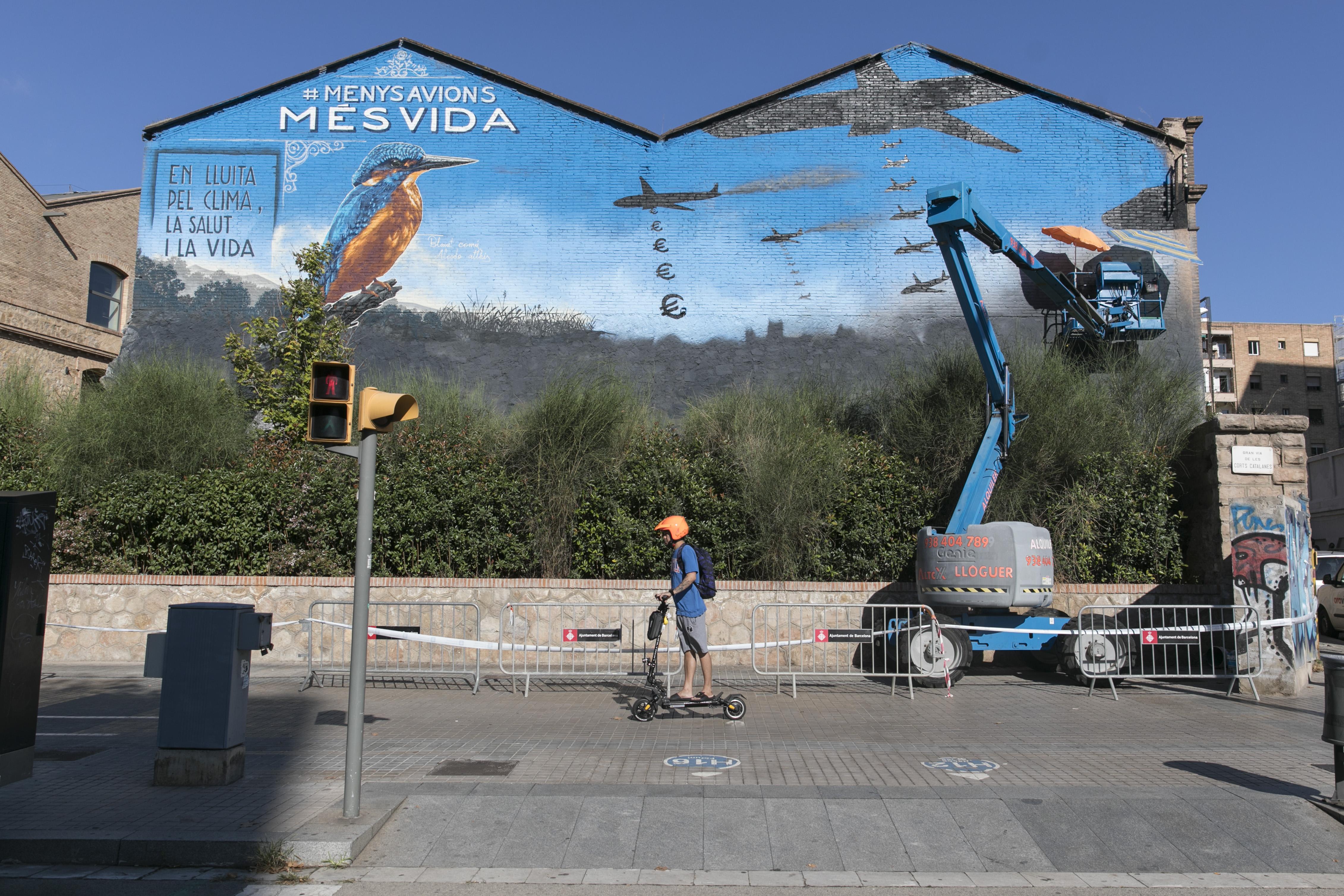 El ecologismo mide su fuerza en la calle para blindar el 'no' a la ampliación de El Prat