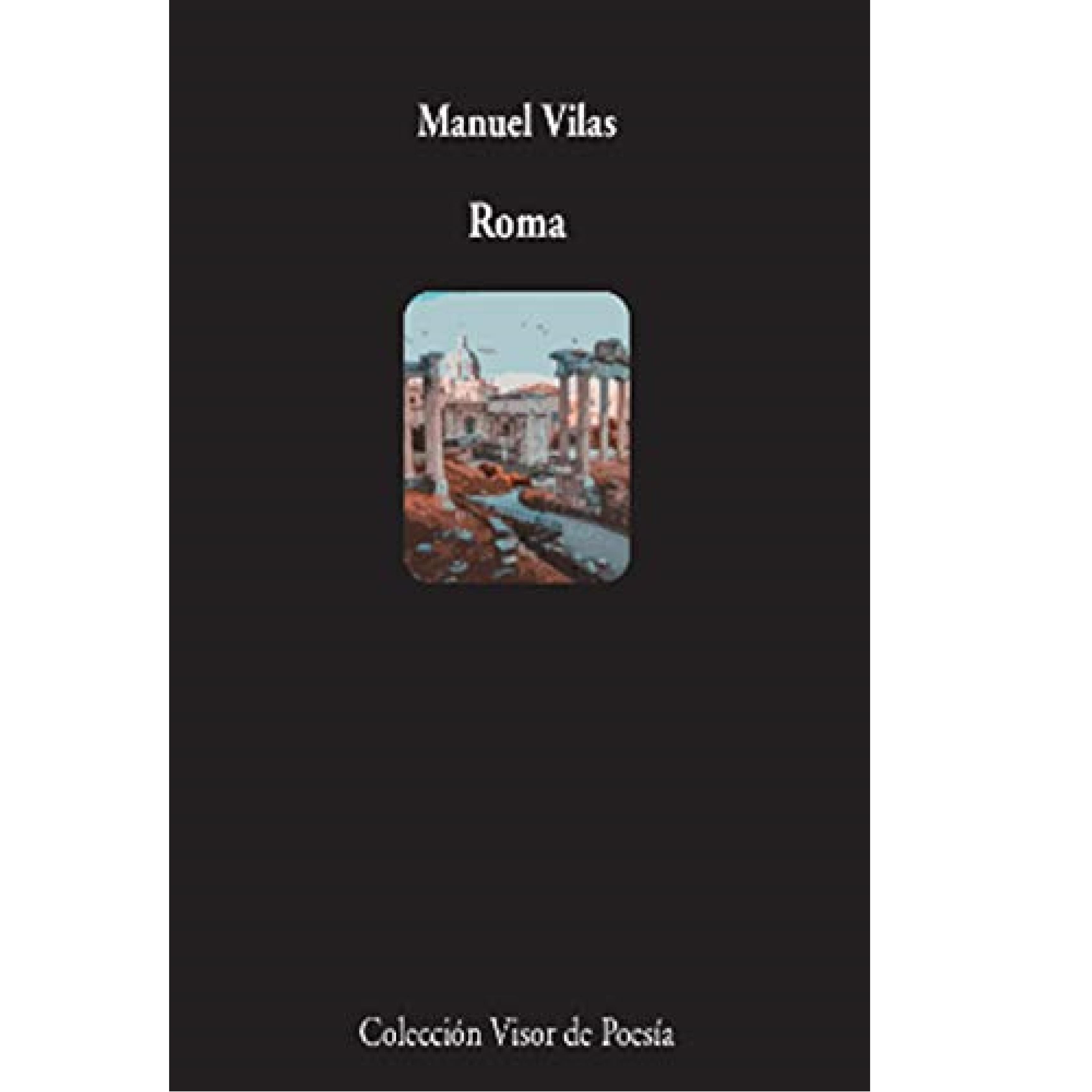 Portada de 'Roma', de Manuel Vilas.