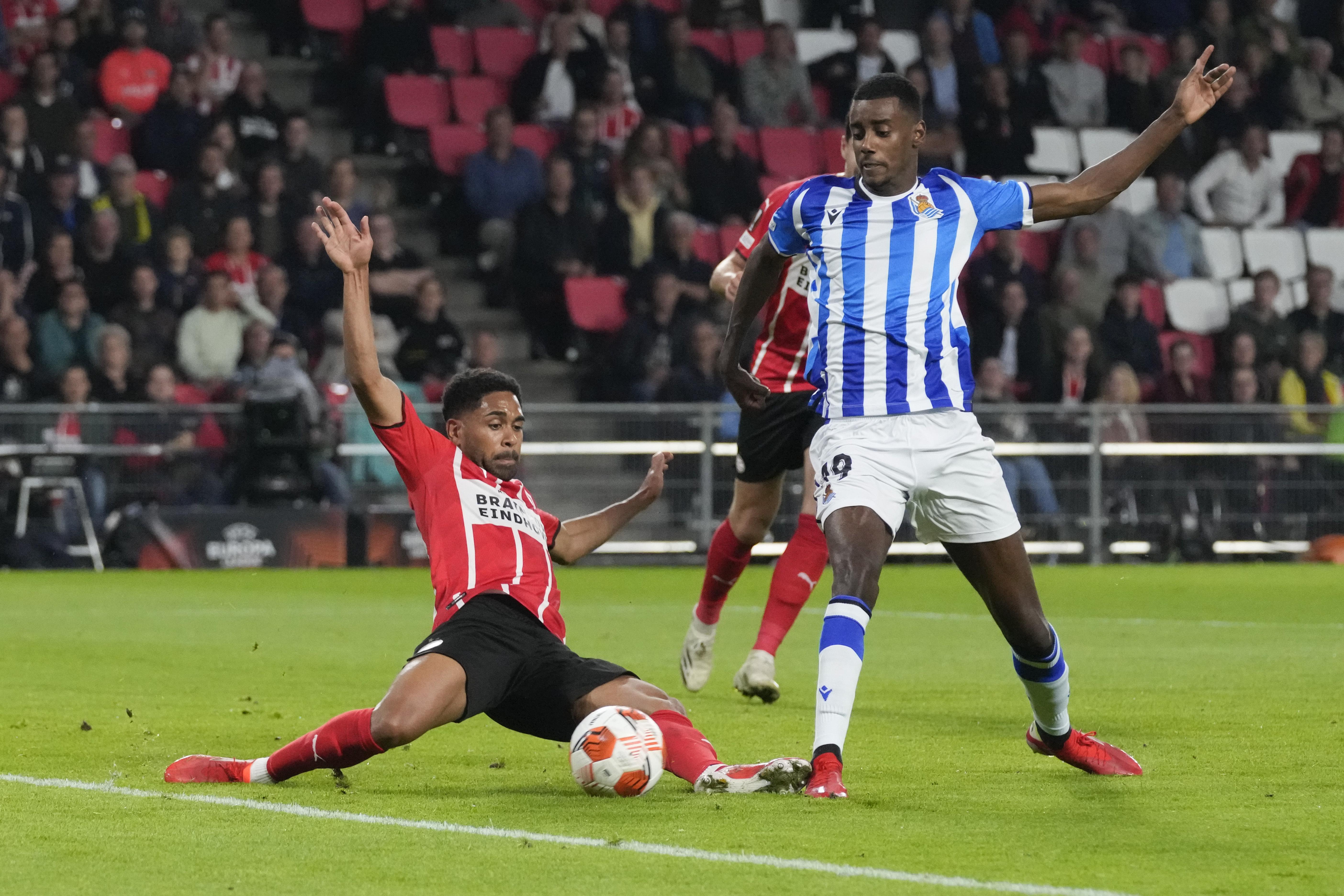 La Real Sociedad araña un punto  en Eindhoven