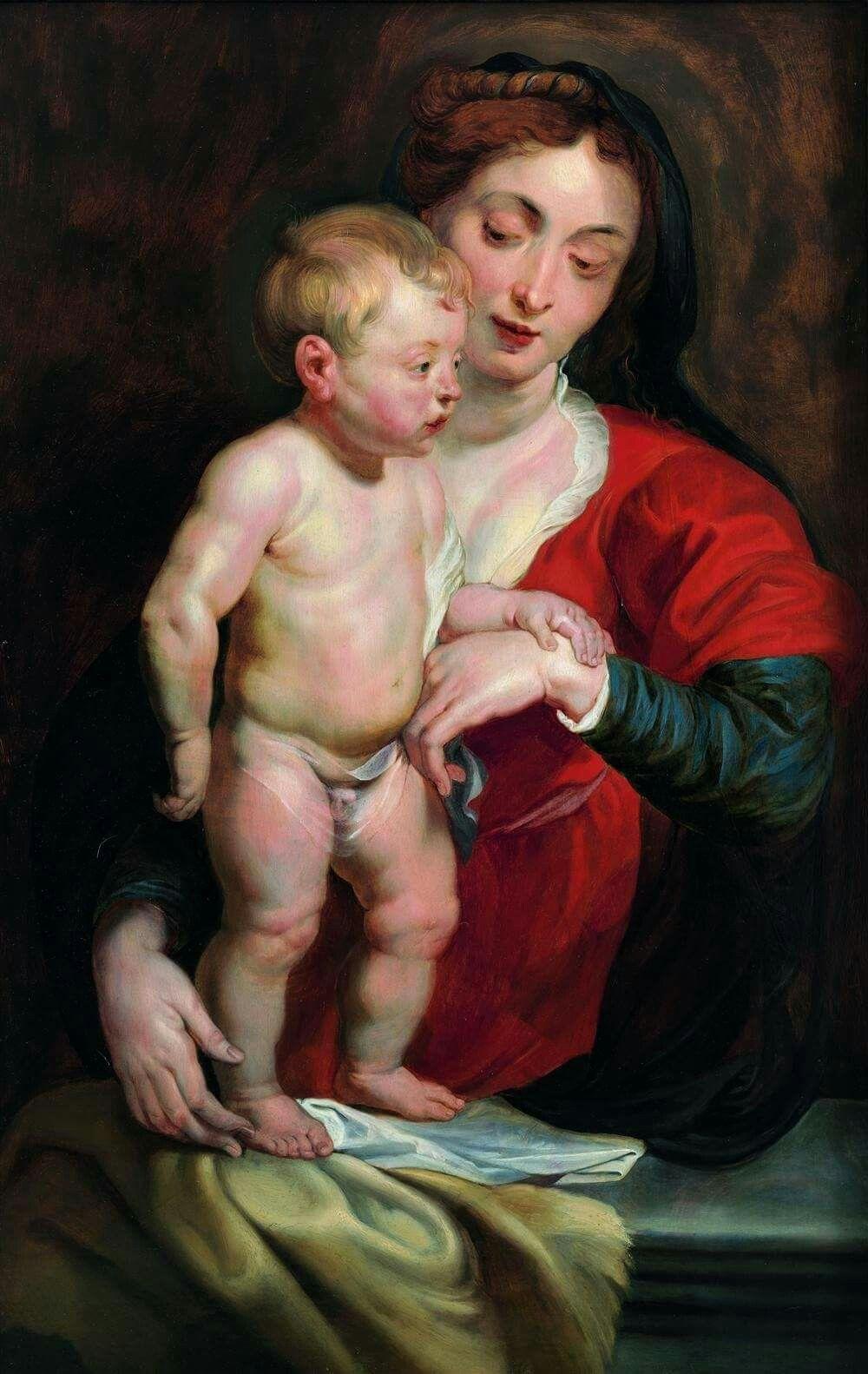 'Virgen de Cumberland', de Rubens (105 por 68 centímetros), de la colección Gerstenmaier, ahora legada al Museo de Bellas Artes de Valencia.