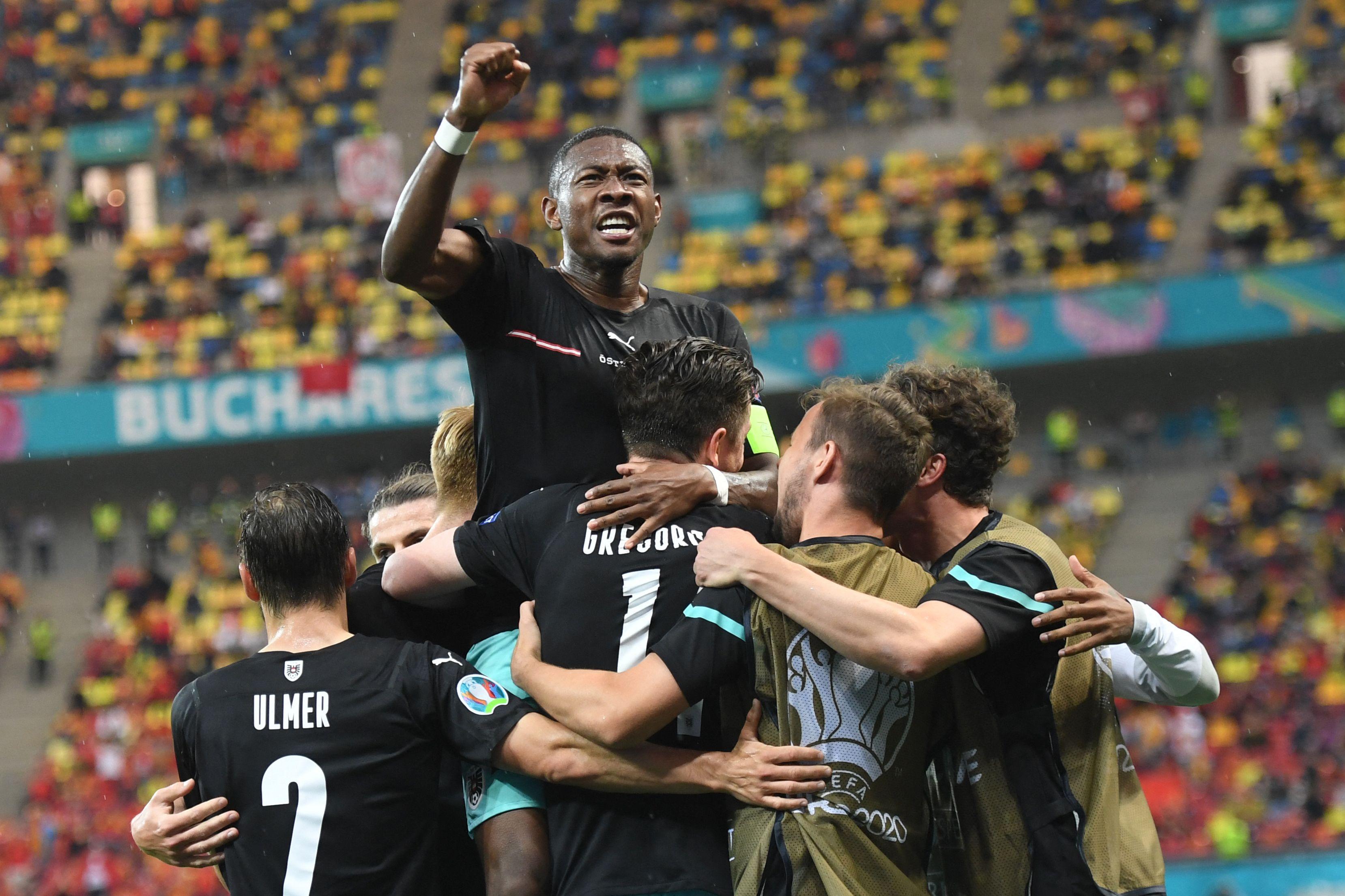 Austria logra su primer triunfo en una Eurocopa
