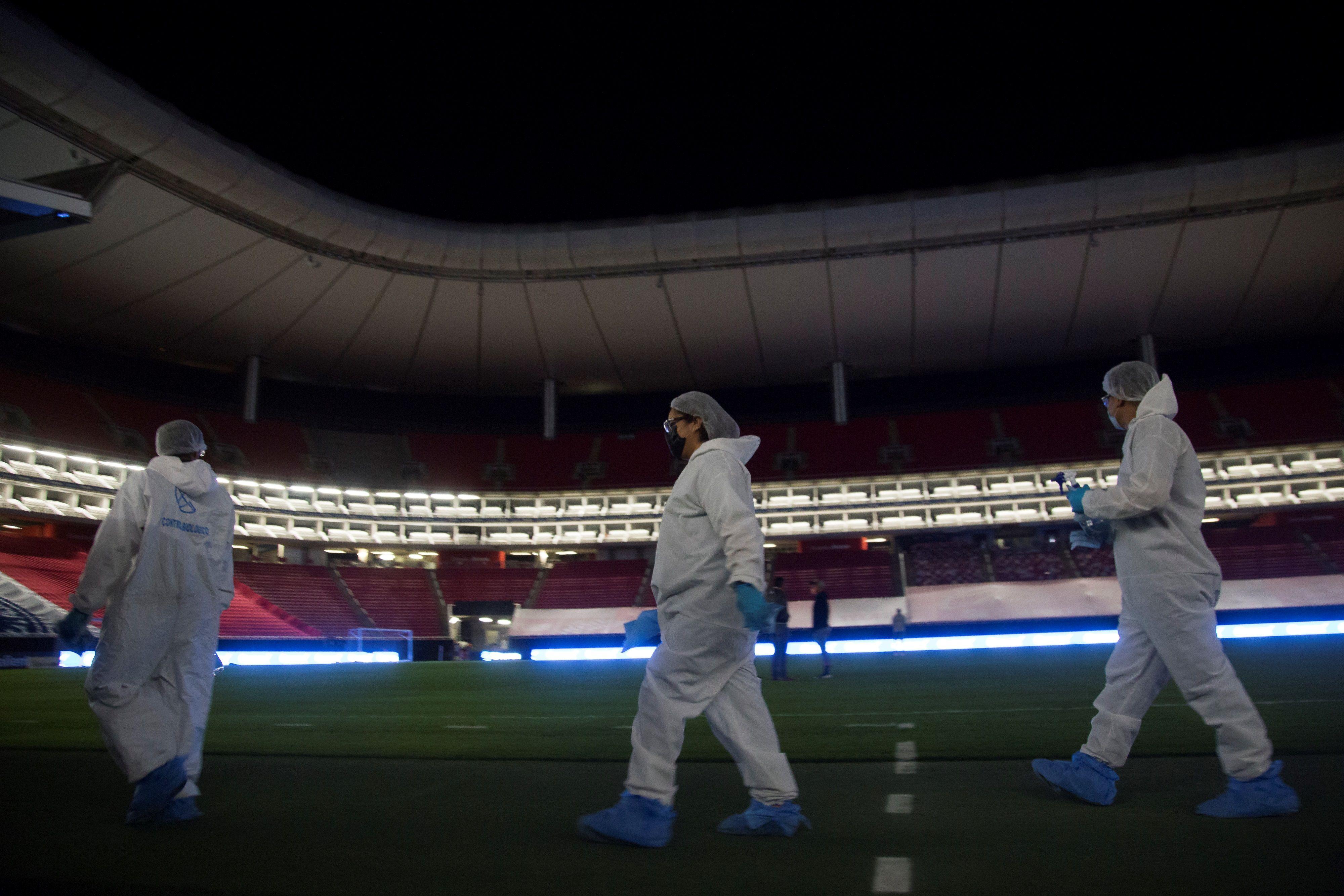Chivas podría contar con el 35% del aforo total del estadio Akron, adelanta el alcalde de Zapopan