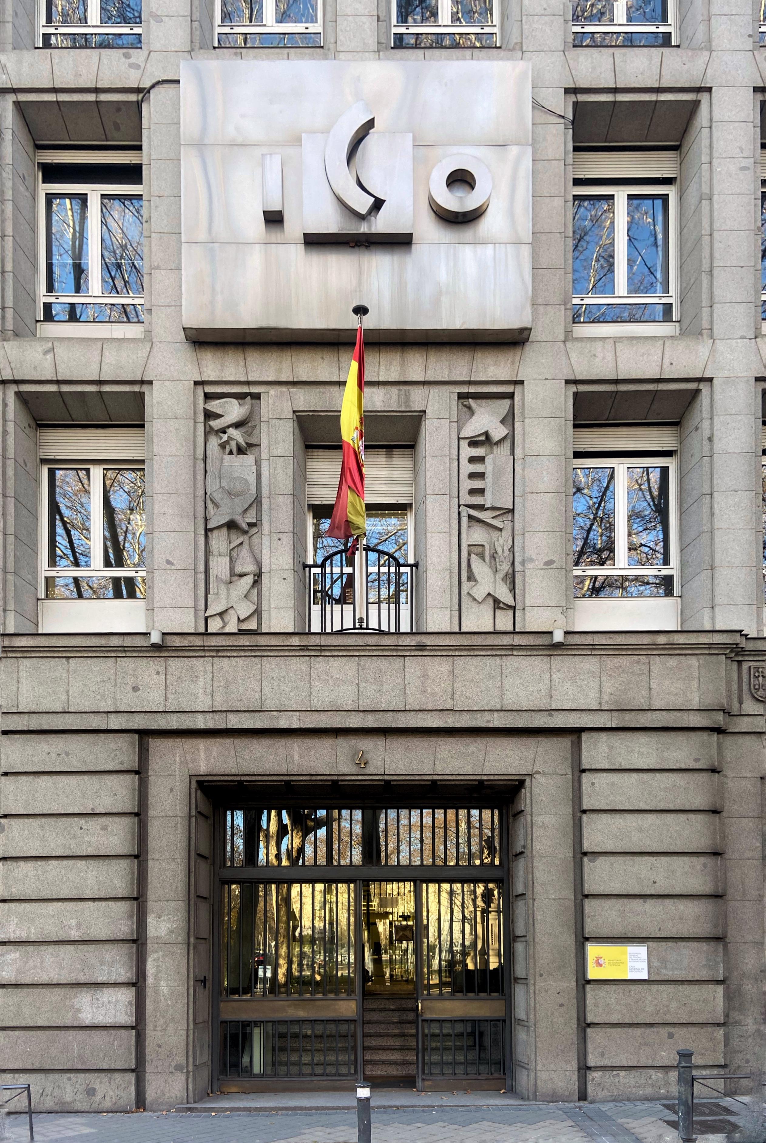 Sede del Instituto de Crédito Oficial (ICO) en Madrid.
