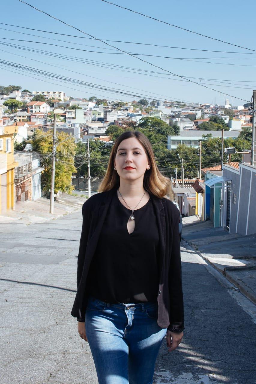 Tamires Fakih, candidata a vereadora de São Paulo pela Rede.