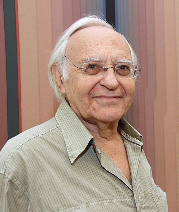 O artista brasileiro Abraham Palatnik.