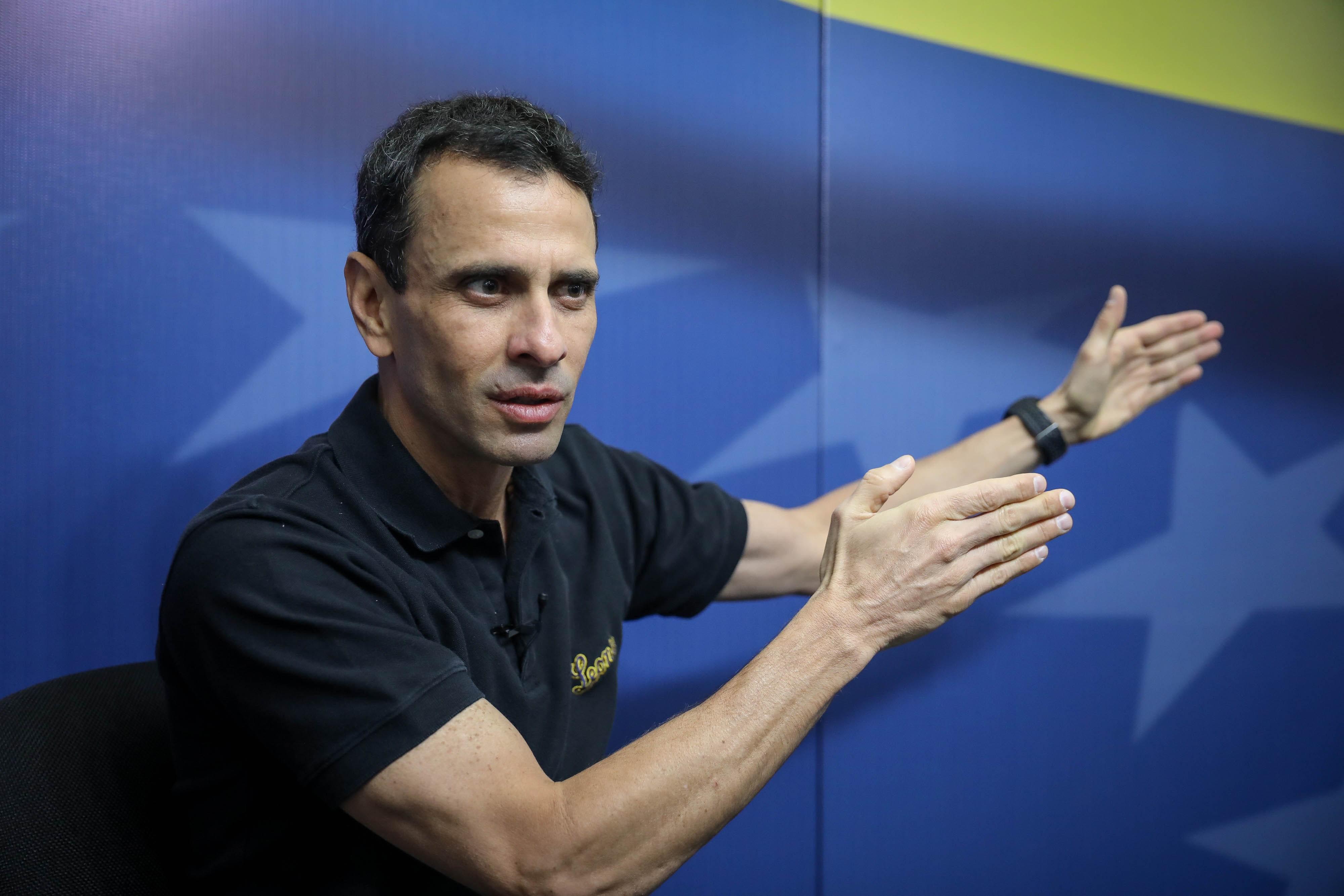 """Henrique Capriles: """"Europa tiene una oportunidad histórica para que Venezuela recupere la democracia"""""""