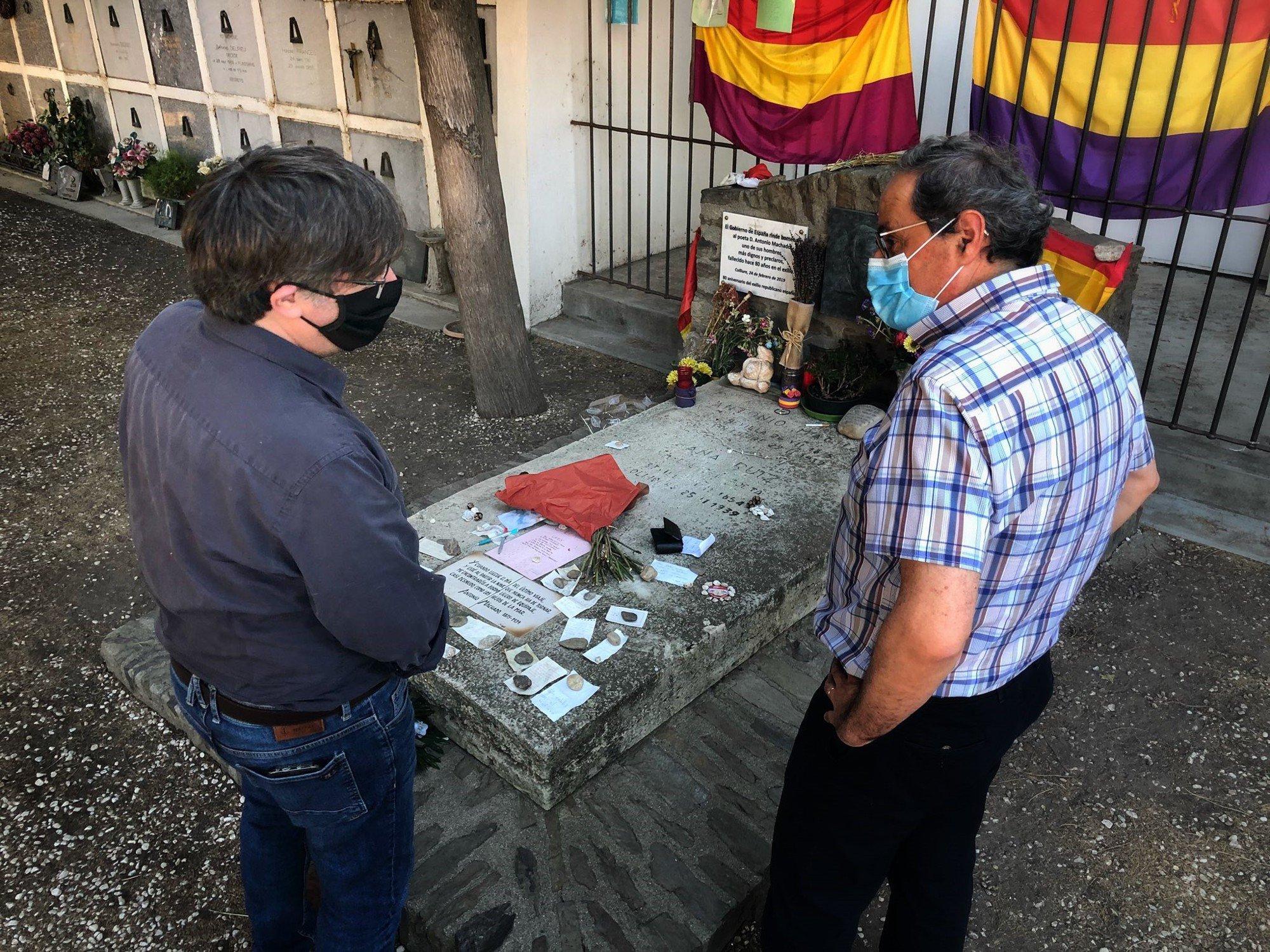 Puigdemont viajó fuera de Bélgica al menos seis veces desde la retirada de su inmunidad