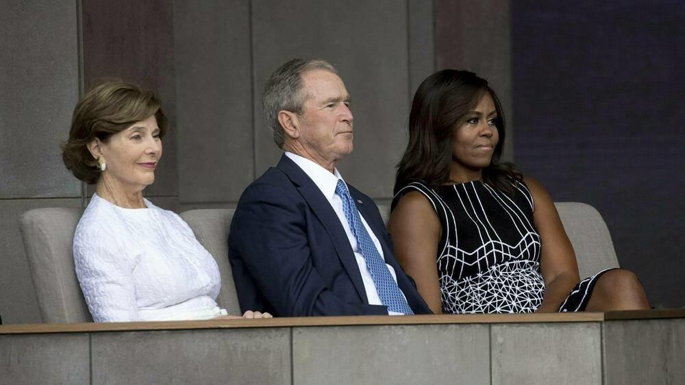 Reaktion auf Freundschaft mit Obama schockierte George W. Bush